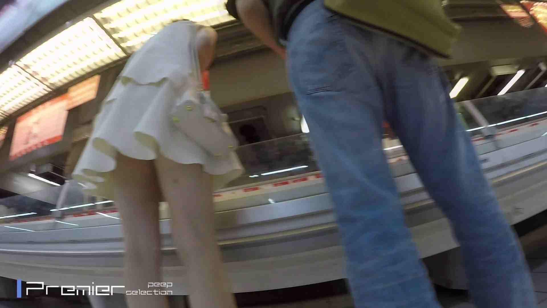 白ミニワンピから覗むピンクの華 美女の下半身を粘着撮り! Vol.01 高画質  59画像 35