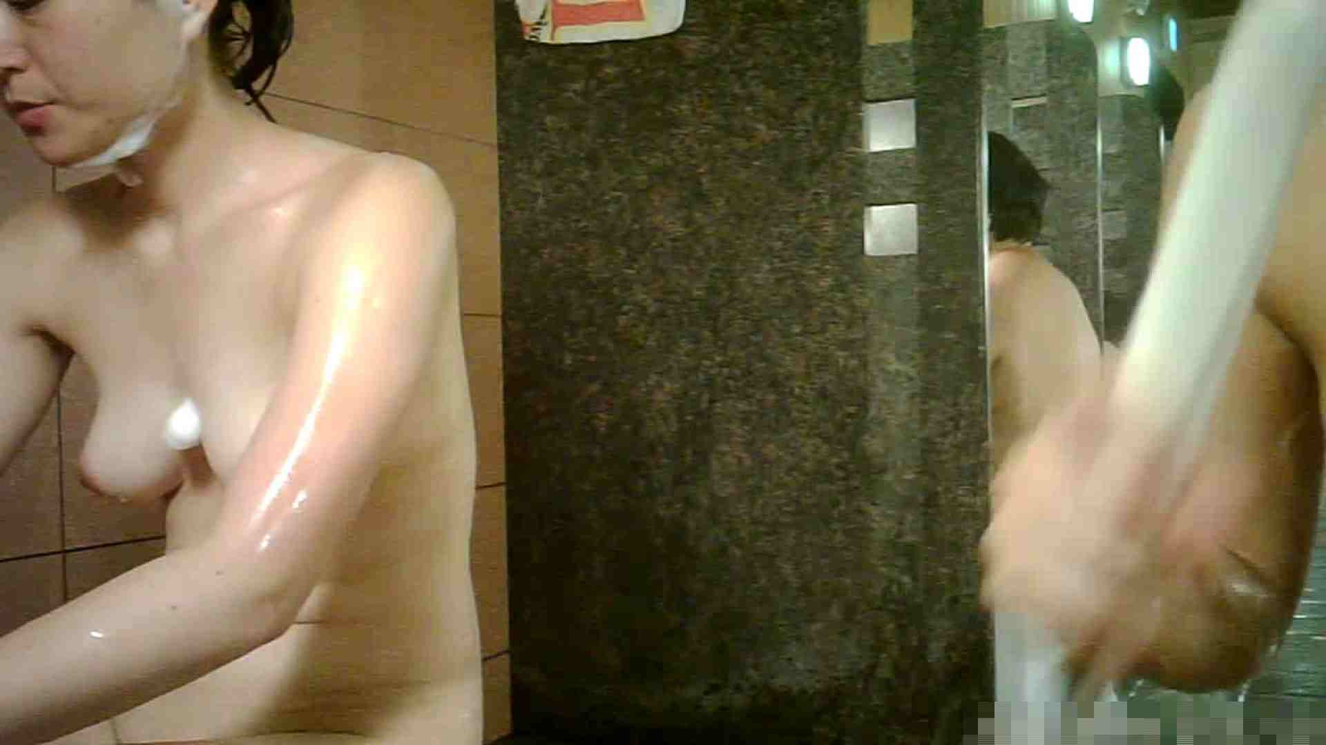 No.1 洗い場!!とっても綺麗な身体のお女市さん、乳首も綺麗です。 潜入 | 桃色乳首  98画像 9