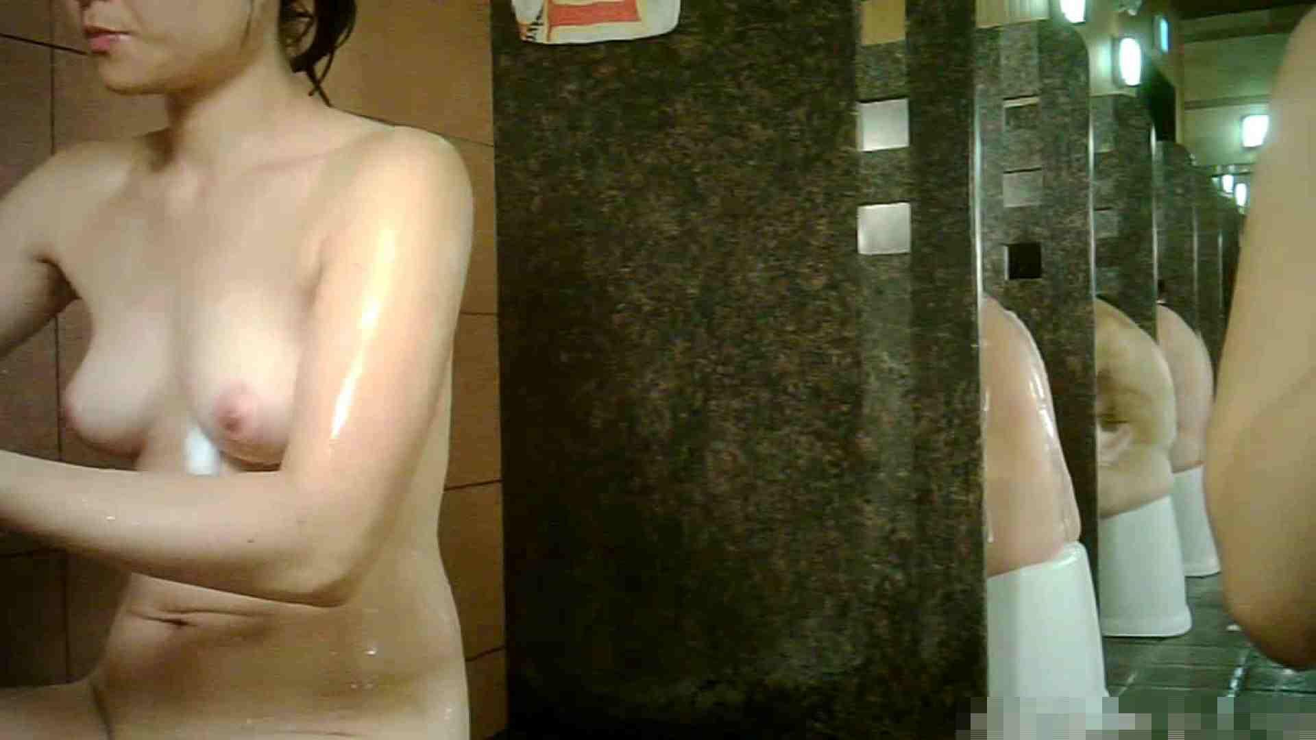 No.1 洗い場!!とっても綺麗な身体のお女市さん、乳首も綺麗です。 ギャルの乳首 AV無料 98画像 15