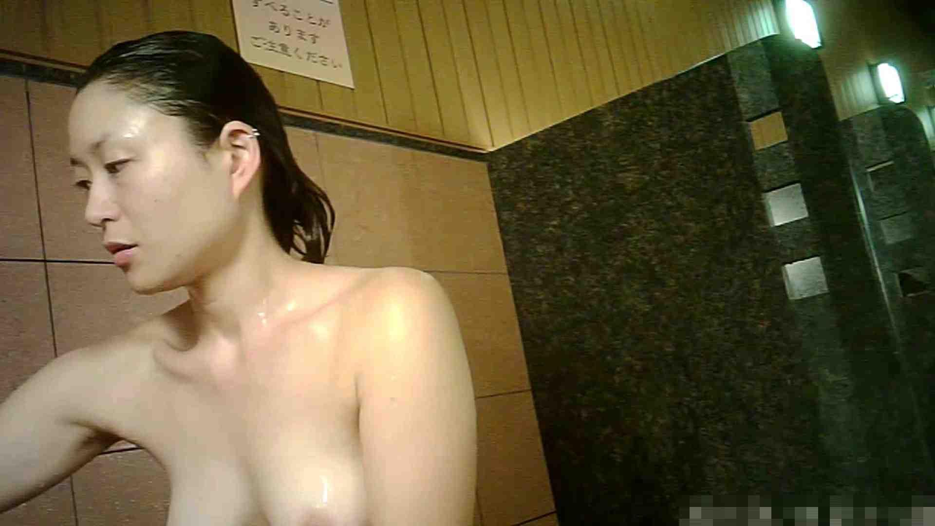 No.1 洗い場!!とっても綺麗な身体のお女市さん、乳首も綺麗です。 女湯 戯れ無修正画像 98画像 45