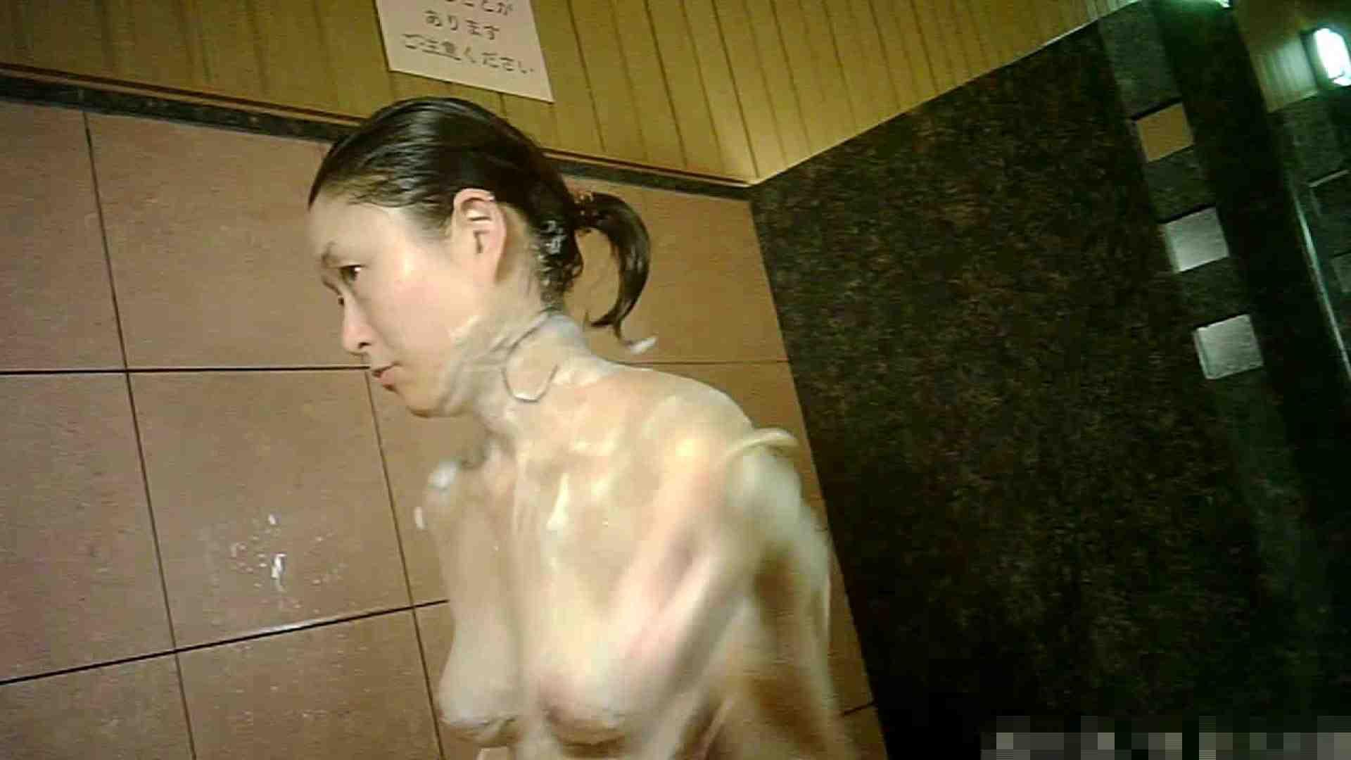 No.1 洗い場!!とっても綺麗な身体のお女市さん、乳首も綺麗です。 女湯 戯れ無修正画像 98画像 69