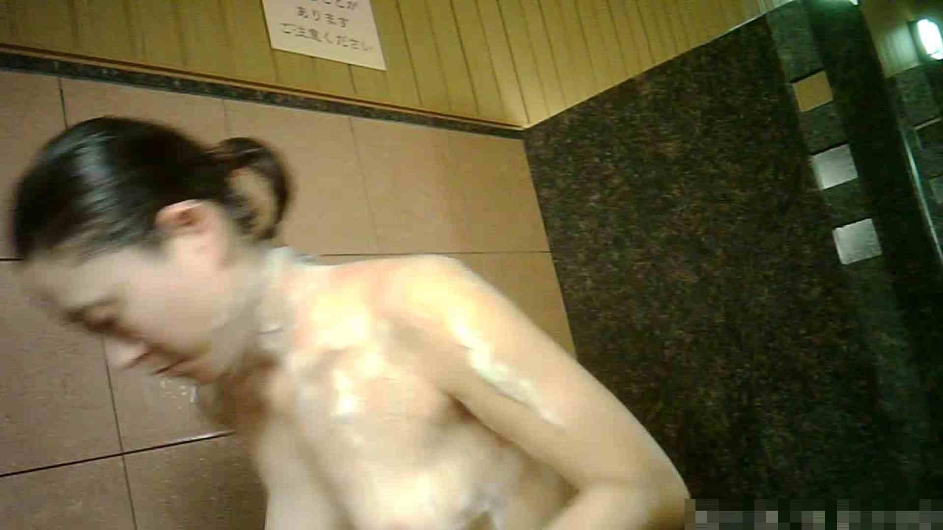 No.1 洗い場!!とっても綺麗な身体のお女市さん、乳首も綺麗です。 銭湯着替え ワレメ無修正動画無料 98画像 70