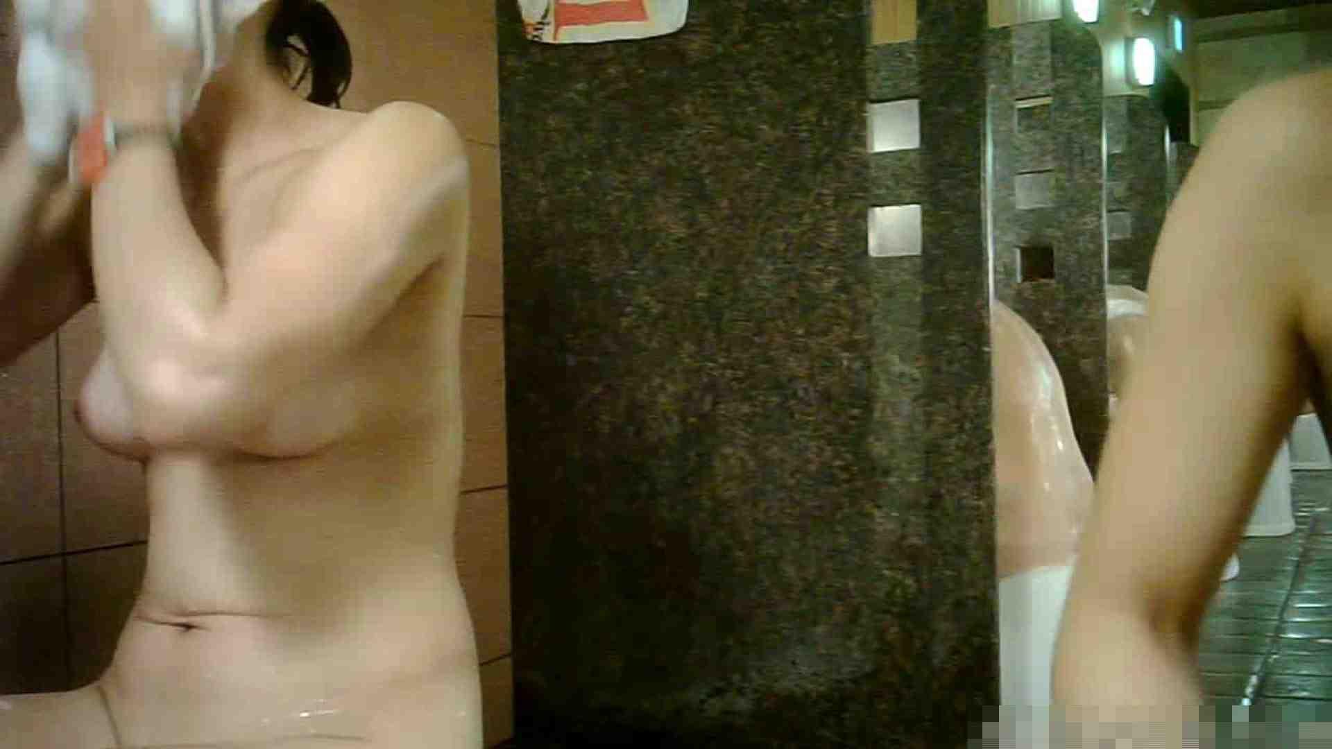 No.1 洗い場!!とっても綺麗な身体のお女市さん、乳首も綺麗です。 潜入  98画像 96