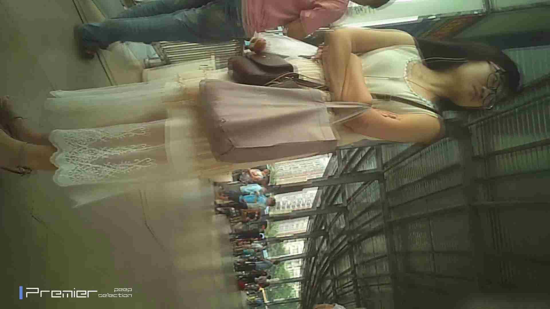美女の痴態に密着!ギャルのパンチラVol.07 白のフリフリスカートの中 美女 オメコ無修正動画無料 101画像 60