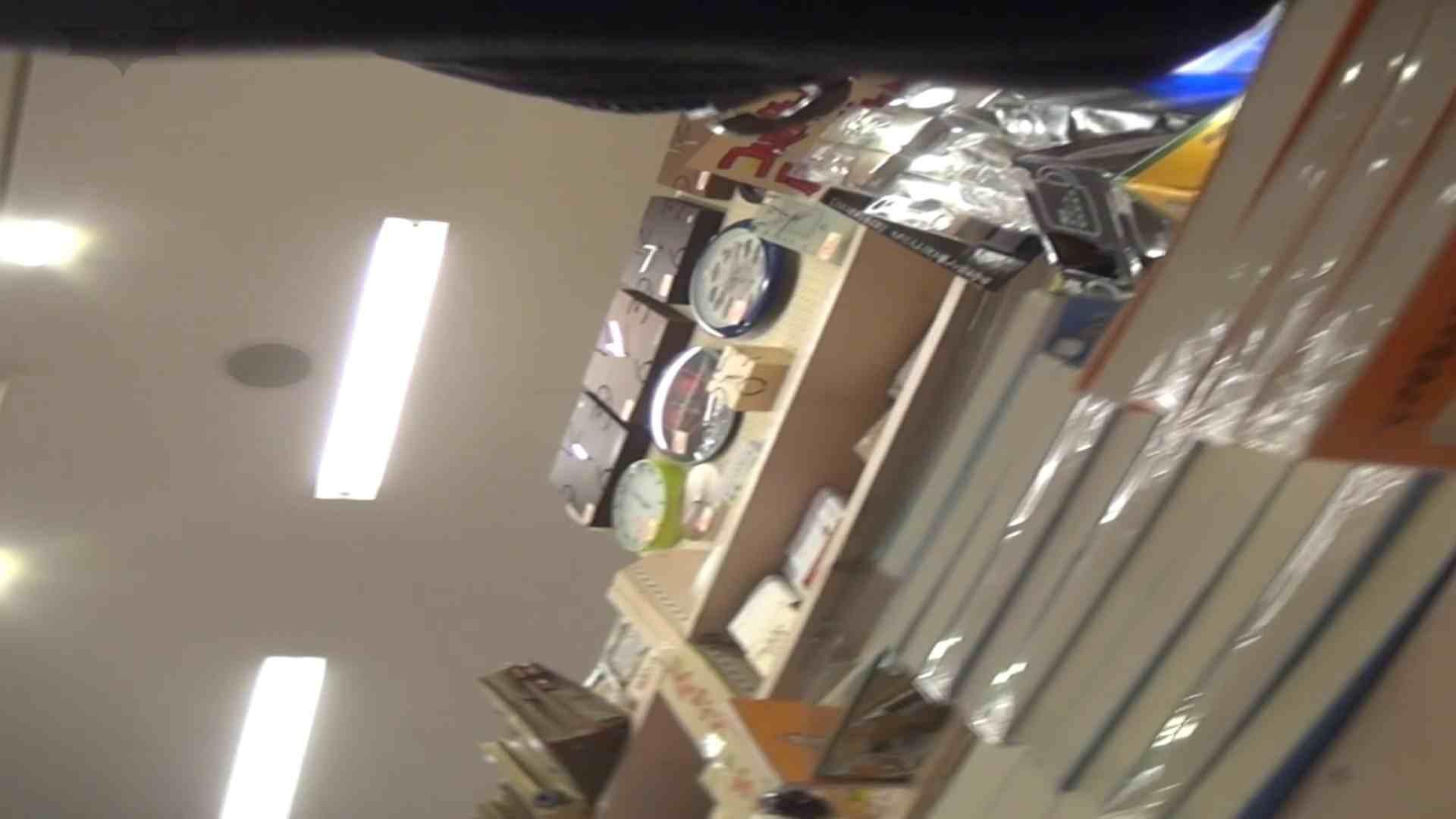 隣からNo17 ガード甘々のヒラヒラ系を粘着撮り 丸見え  73画像 30