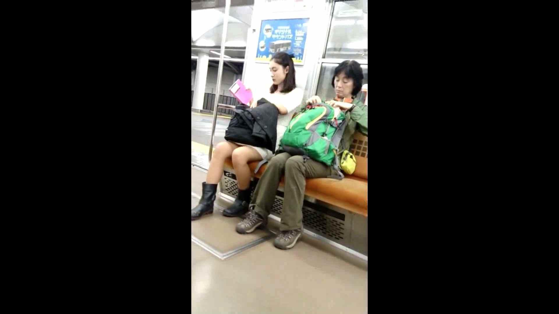 盗撮列車 vol.02 NINJAさんの粘着撮り パンチラ   お姉さん攻略  73画像 73