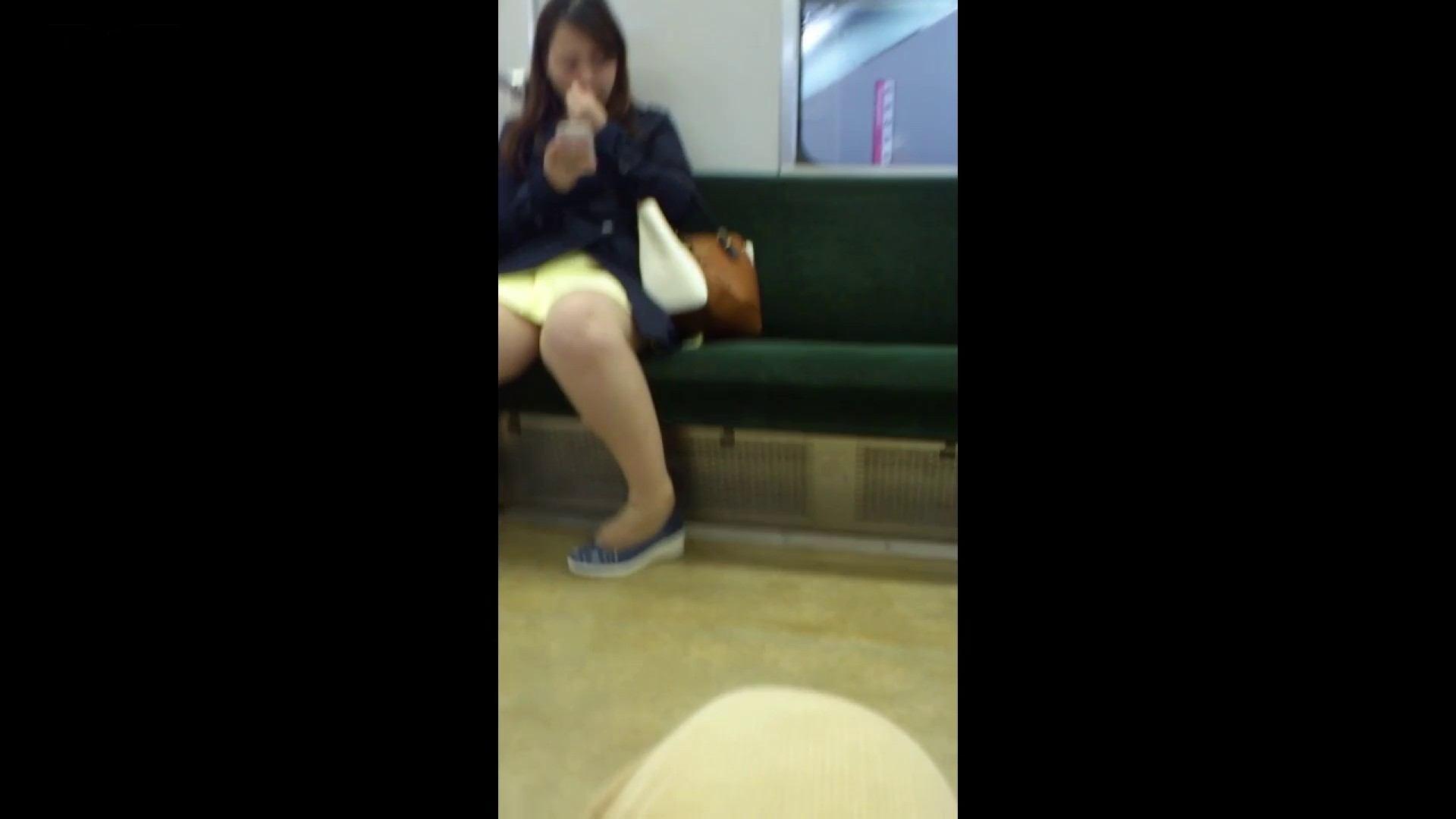 盗撮列車 Vol.54 春色の黄色のスカート パンチラ  83画像 70