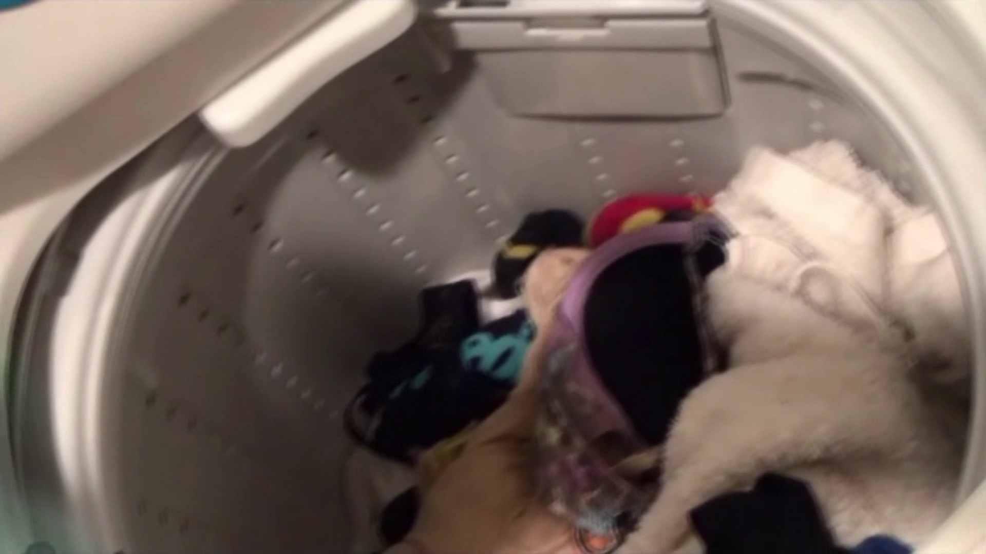 【01】ベランダへ侵入し、真っ先に洗濯機へ直行しました。 お姉さん攻略  110画像 14