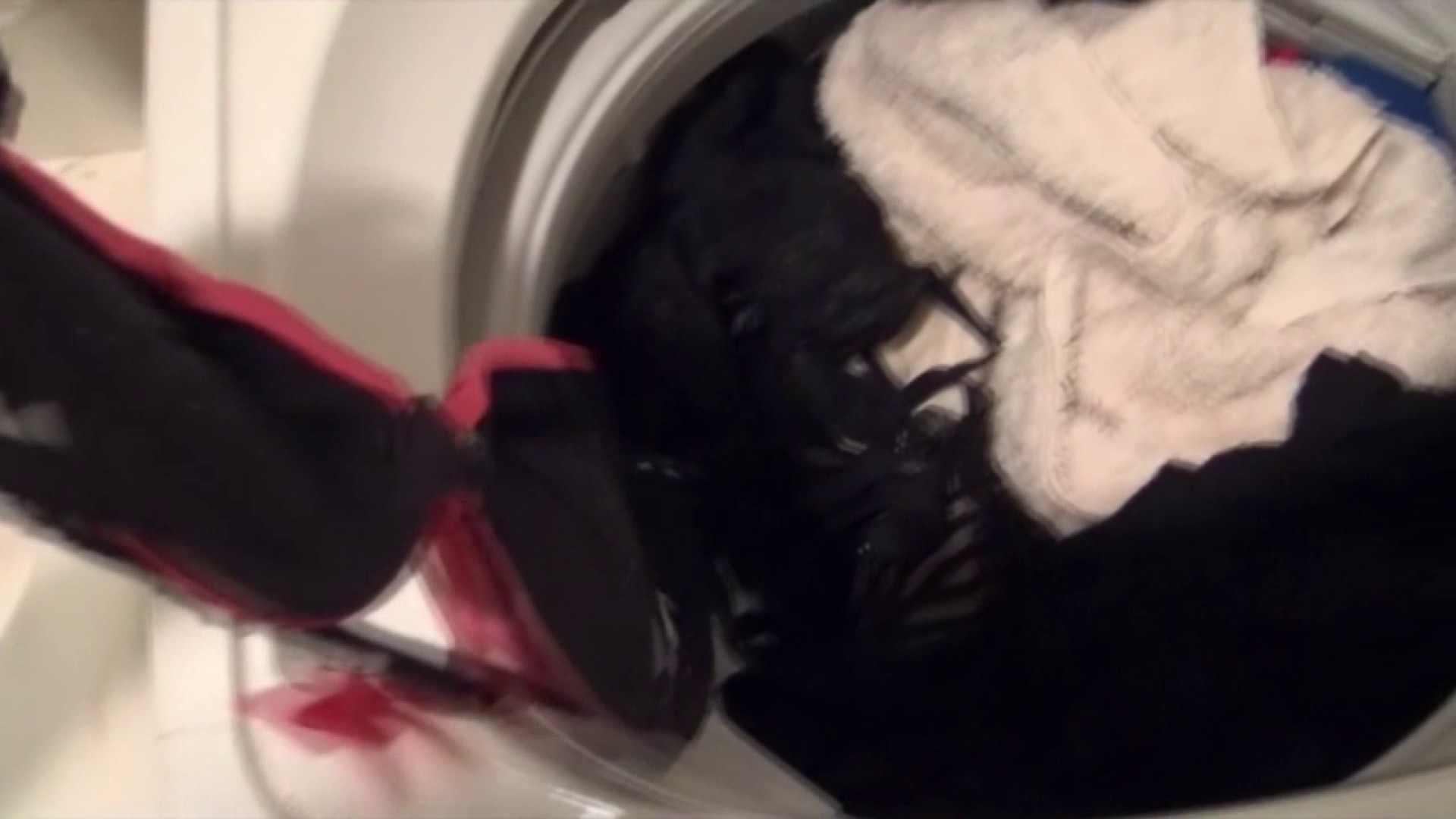 【01】ベランダへ侵入し、真っ先に洗濯機へ直行しました。 お姉さん攻略   民家  110画像 53