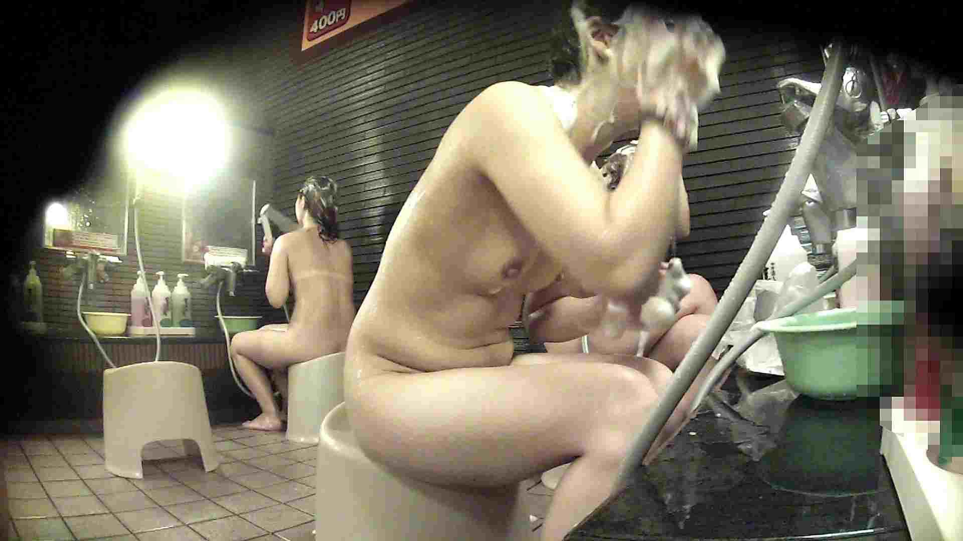 洗い場!何もかもがイマイチと言える2人組 女湯 AV動画キャプチャ 87画像 33