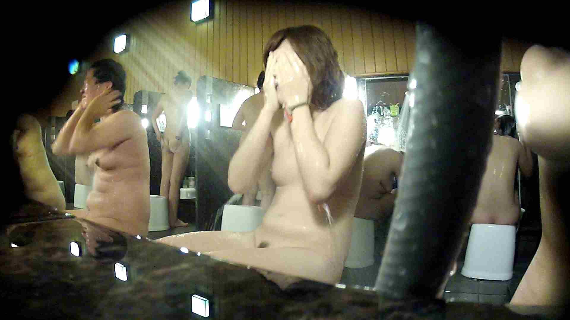 洗い場!顔は大!胸は小!肌は綺麗です。 潜入 スケベ動画紹介 100画像 32