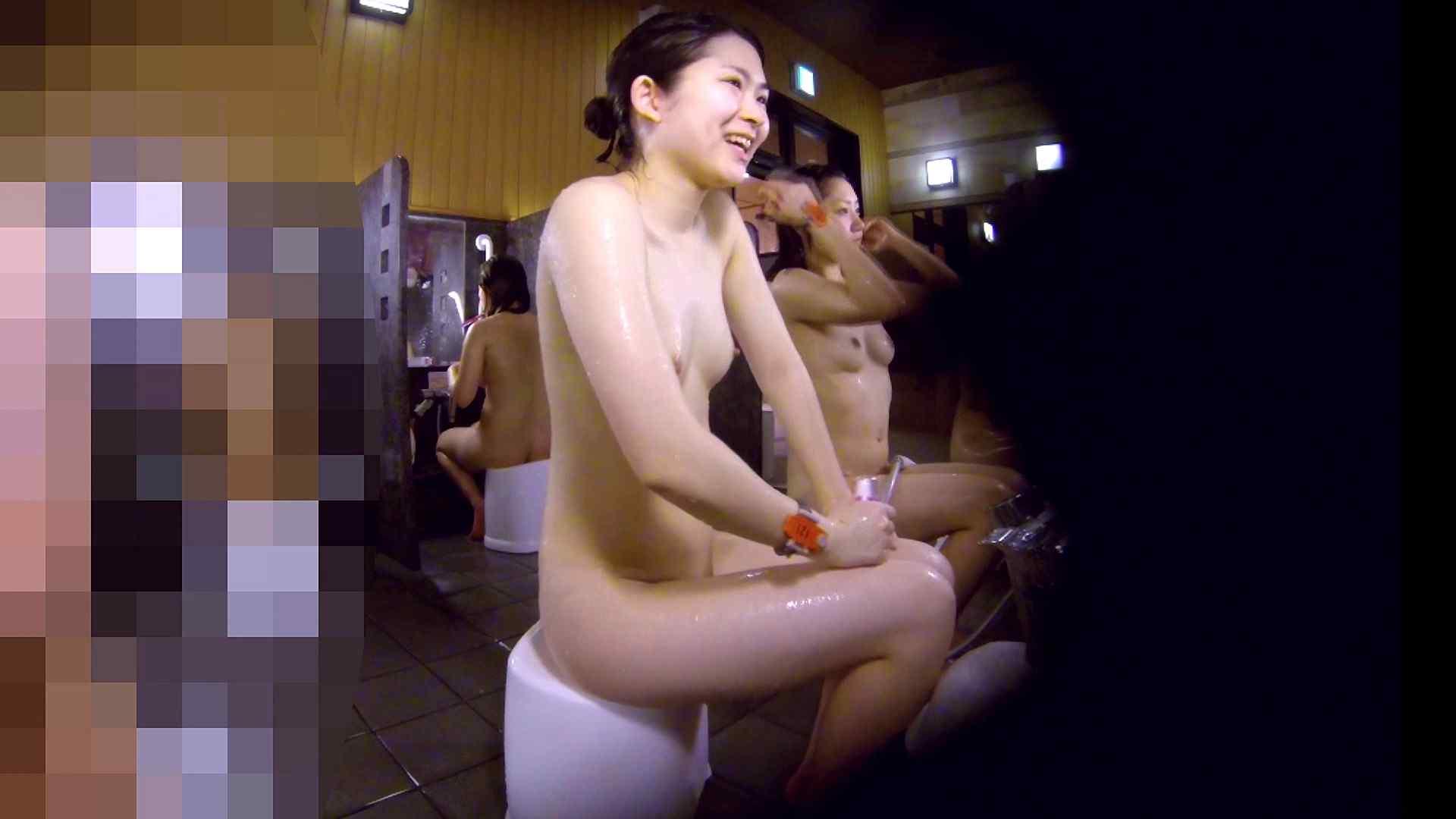 洗い場!眉しっかりの和風美人、奥の嬢も気になります! 潜入 ぱこり動画紹介 111画像 12