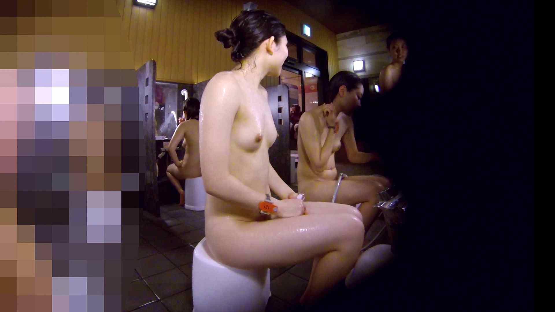 洗い場!眉しっかりの和風美人、奥の嬢も気になります! 美肌 性交動画流出 111画像 17