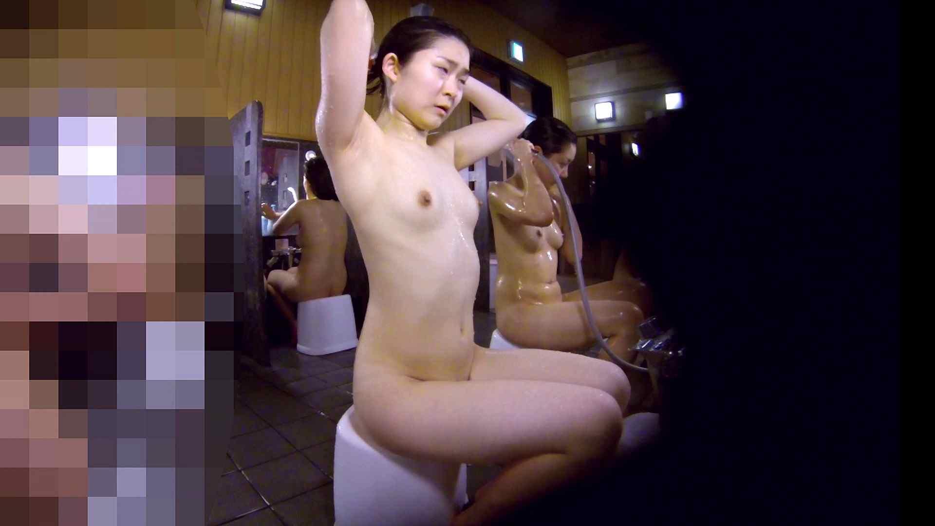洗い場!眉しっかりの和風美人、奥の嬢も気になります! 潜入 ぱこり動画紹介 111画像 33