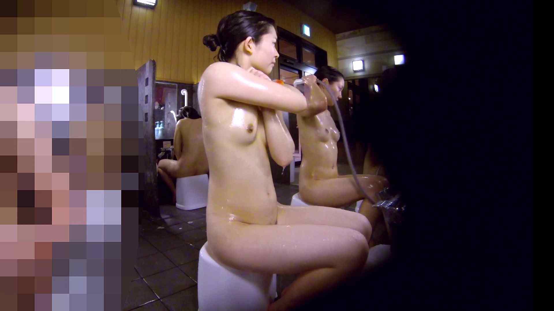 洗い場!眉しっかりの和風美人、奥の嬢も気になります! 美肌 性交動画流出 111画像 45