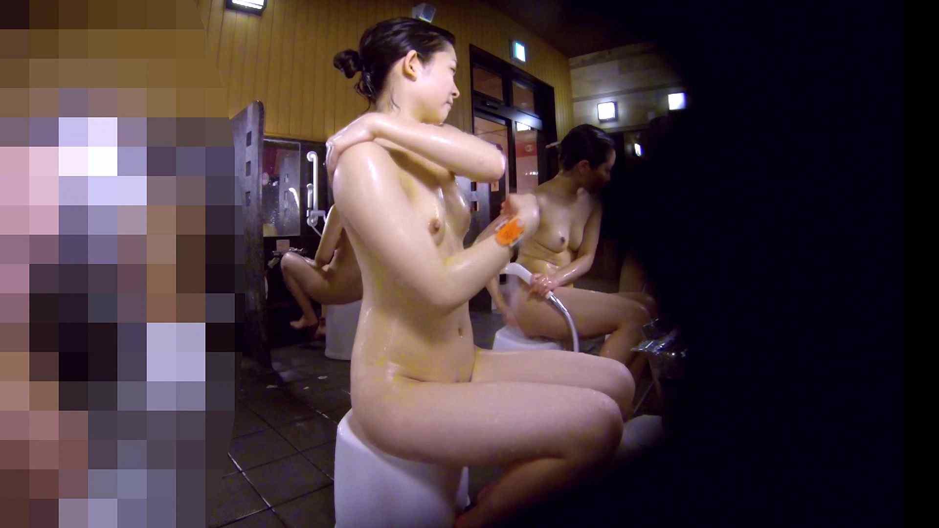 洗い場!眉しっかりの和風美人、奥の嬢も気になります! 潜入 ぱこり動画紹介 111画像 54