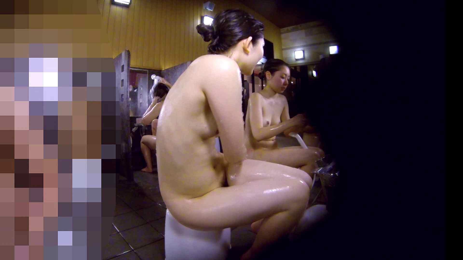 洗い場!眉しっかりの和風美人、奥の嬢も気になります! 潜入 ぱこり動画紹介 111画像 68