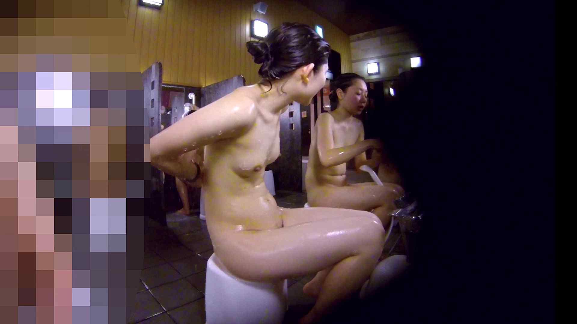 洗い場!眉しっかりの和風美人、奥の嬢も気になります! 美人編 エロ無料画像 111画像 69