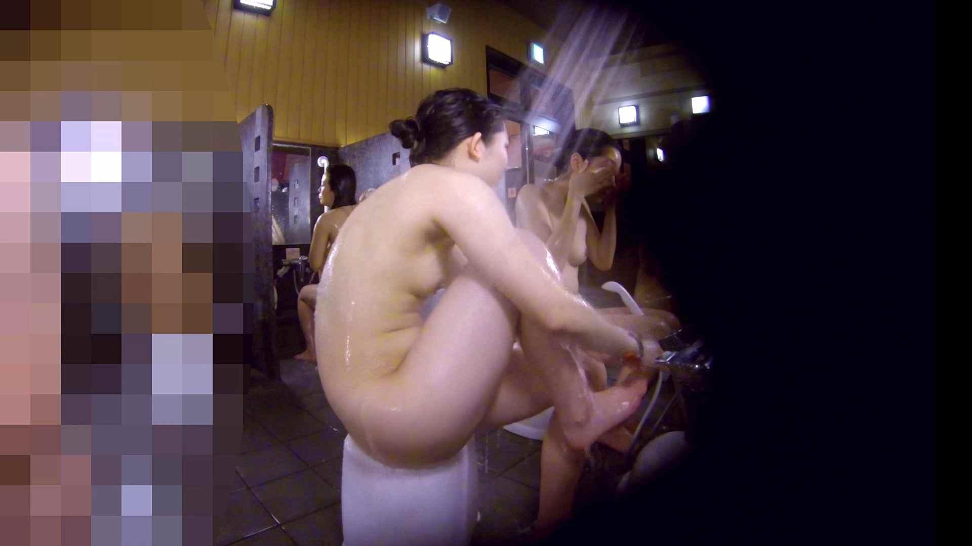 洗い場!眉しっかりの和風美人、奥の嬢も気になります! 美肌 性交動画流出 111画像 80