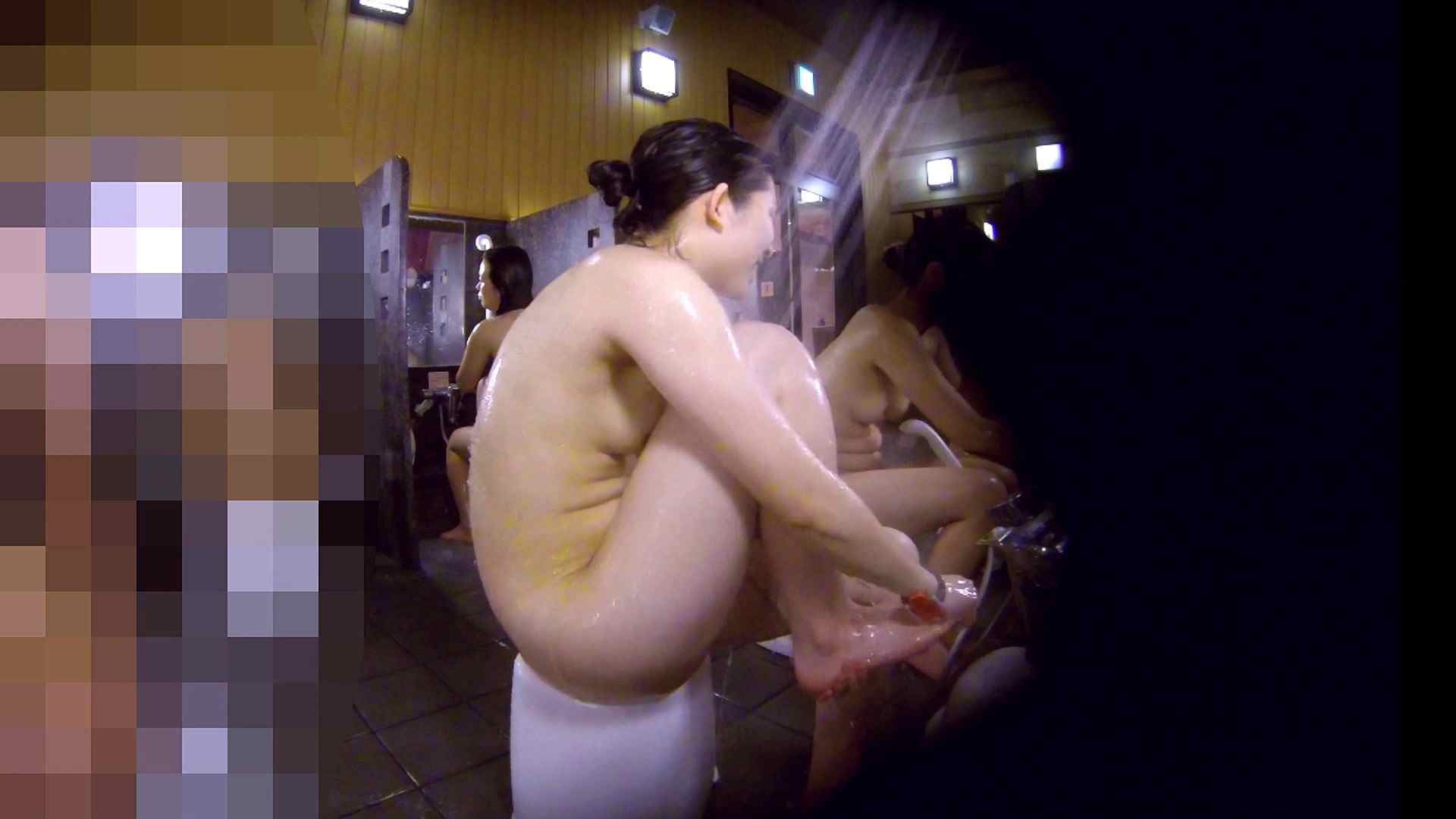 洗い場!眉しっかりの和風美人、奥の嬢も気になります! 美乳 すけべAV動画紹介 111画像 81