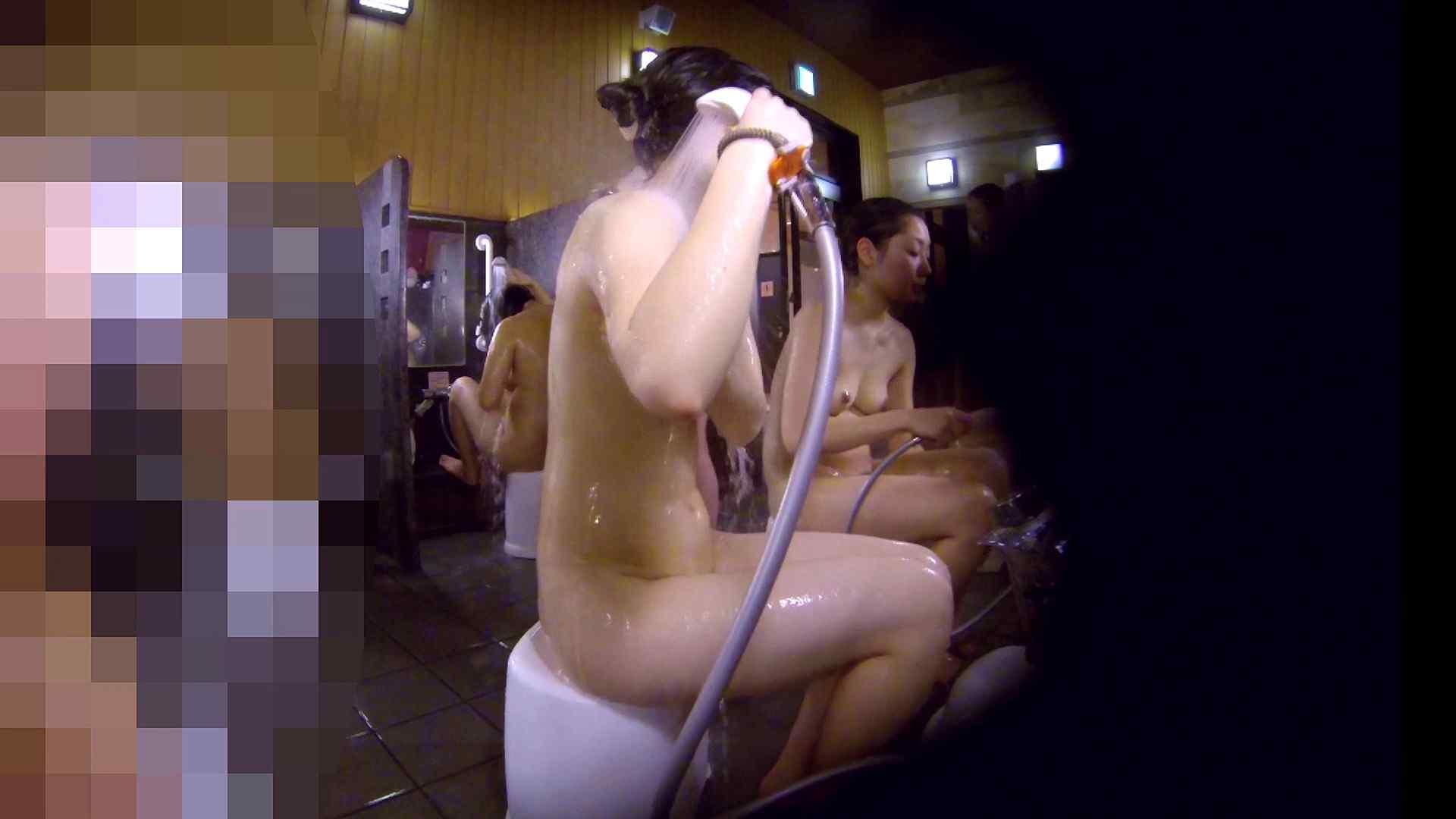 洗い場!眉しっかりの和風美人、奥の嬢も気になります! 潜入 ぱこり動画紹介 111画像 89