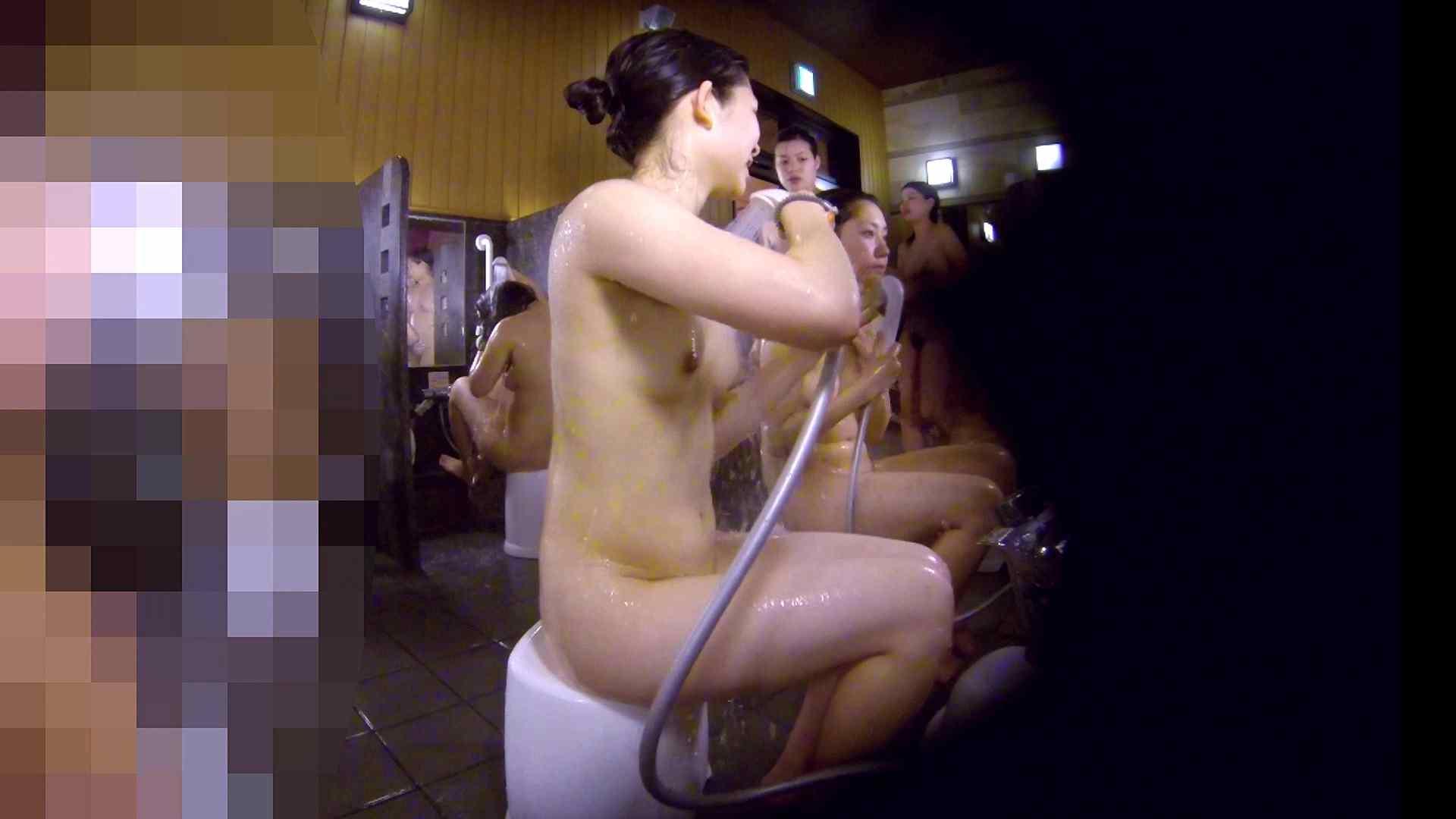 洗い場!眉しっかりの和風美人、奥の嬢も気になります! 美人編 エロ無料画像 111画像 90