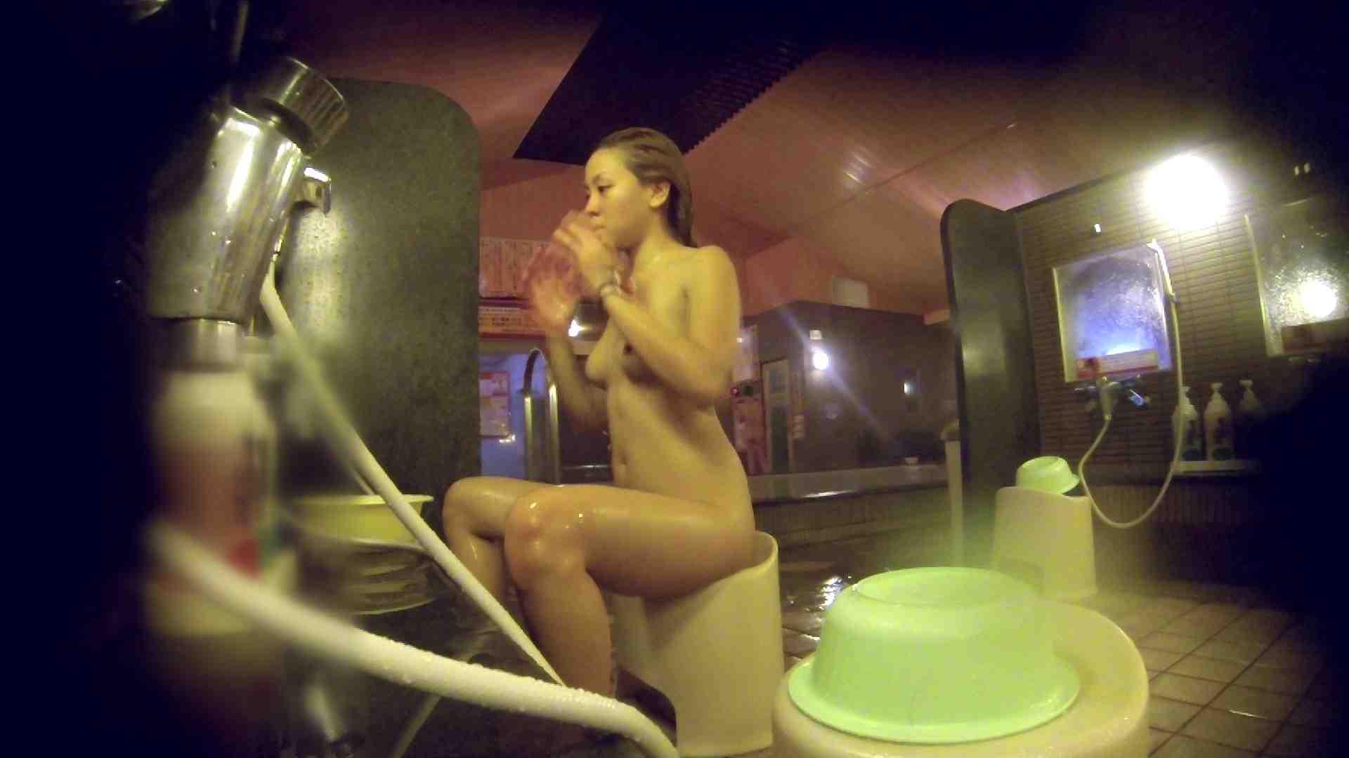 洗い場!意外に今までいなかった金髪ギャル 銭湯着替え AV無料 57画像 5