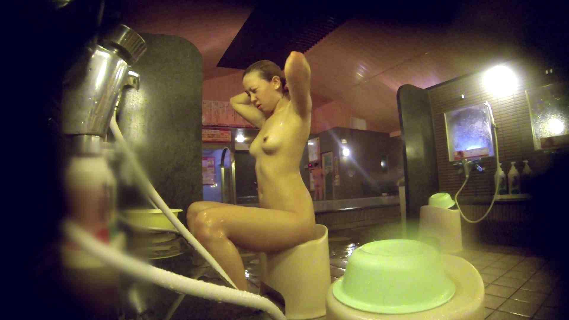 洗い場!意外に今までいなかった金髪ギャル 女湯 ワレメ動画紹介 57画像 10