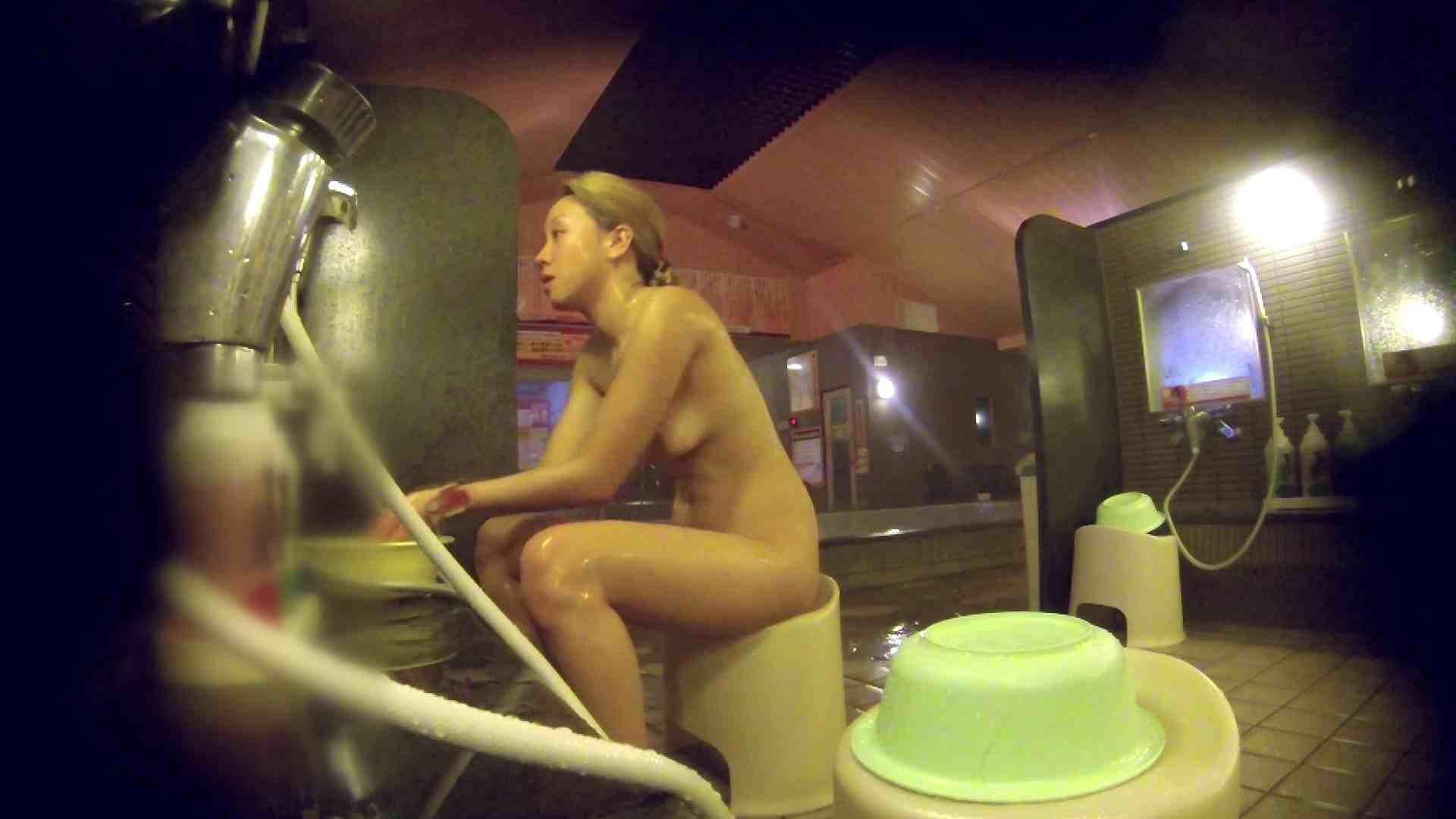 洗い場!意外に今までいなかった金髪ギャル 女湯 ワレメ動画紹介 57画像 40