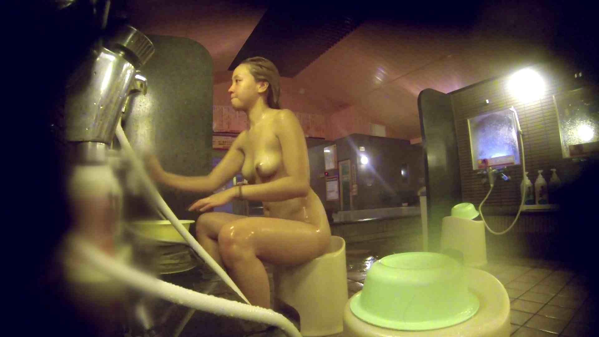 洗い場!意外に今までいなかった金髪ギャル 銭湯着替え AV無料 57画像 53