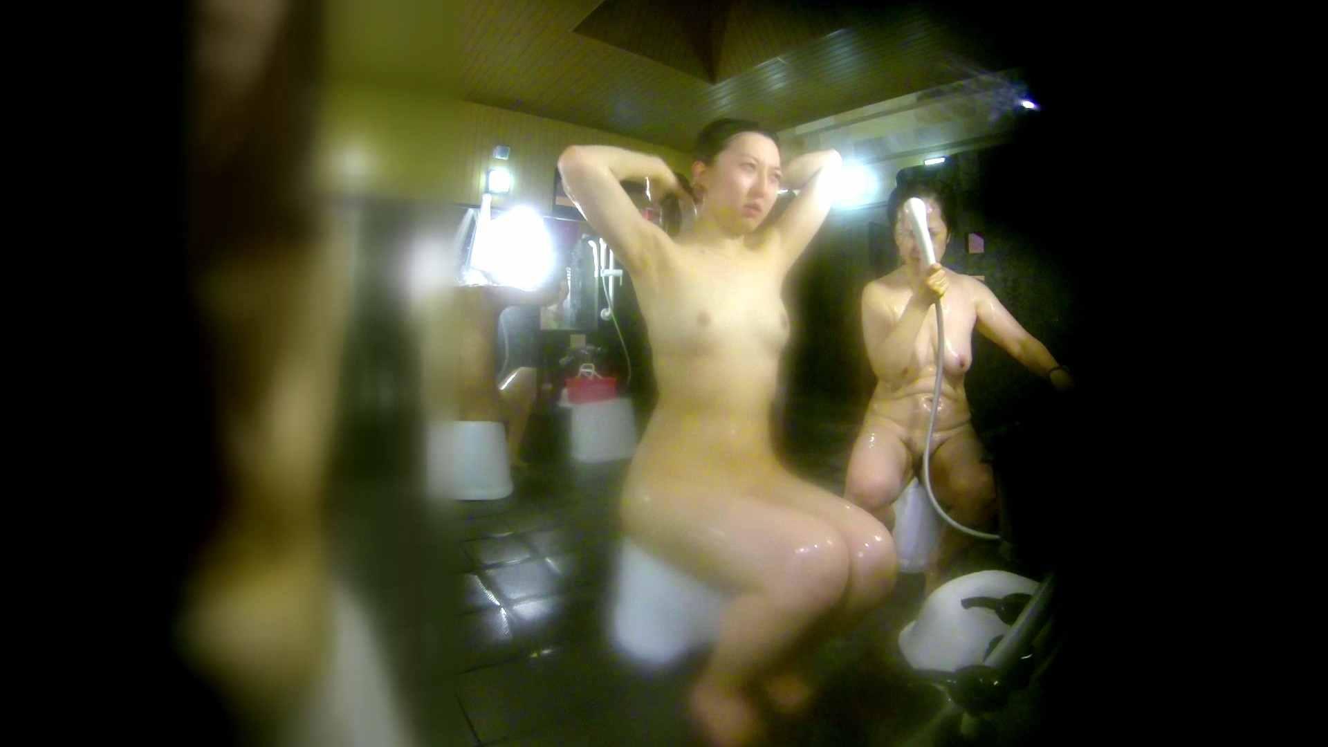 洗い場!右足の位置がいいですね。陰毛もっさり! 美肌 セックス画像 111画像 9