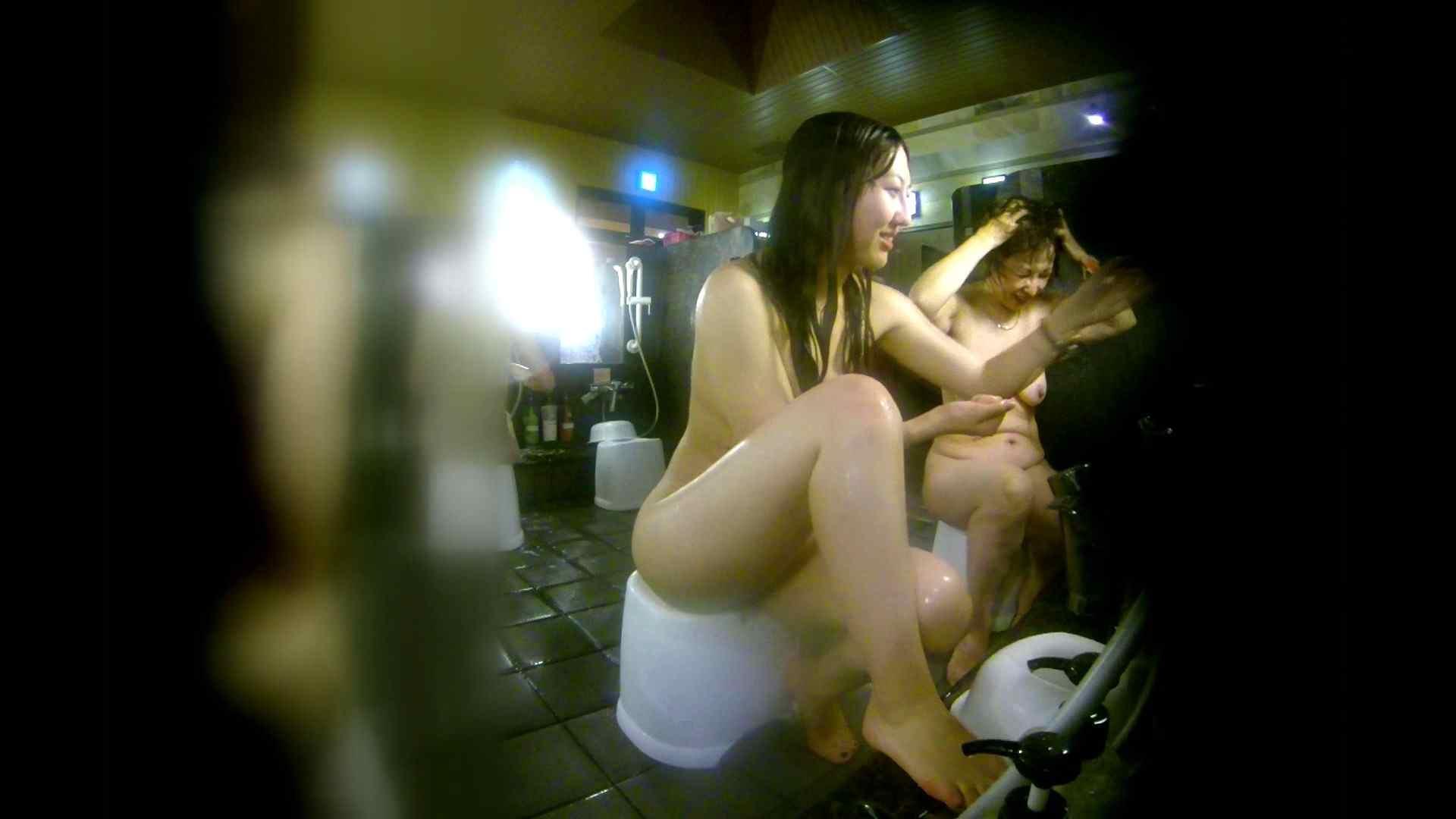 洗い場!右足の位置がいいですね。陰毛もっさり! 美肌 セックス画像 111画像 30