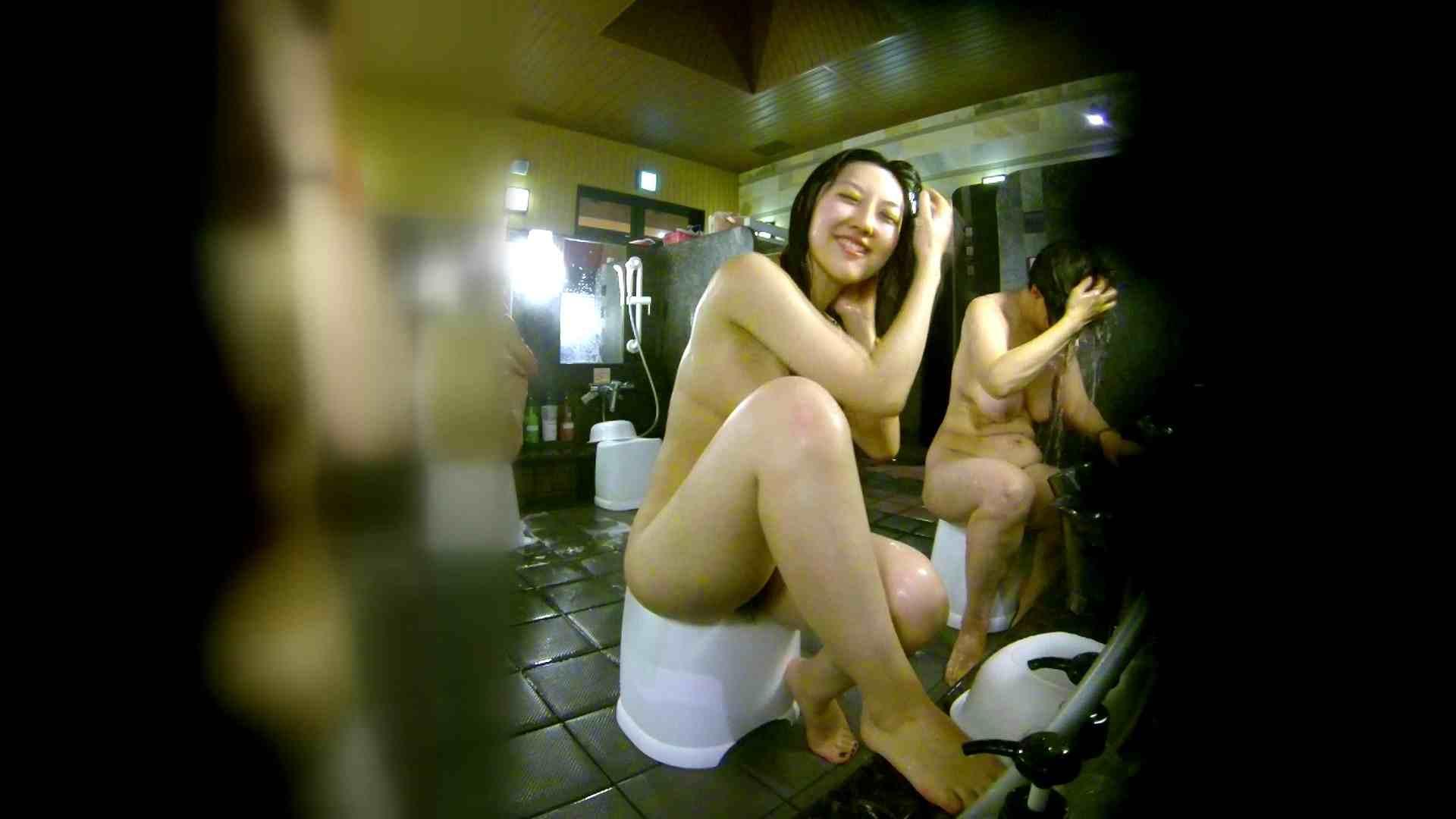 洗い場!右足の位置がいいですね。陰毛もっさり! 美肌 セックス画像 111画像 37