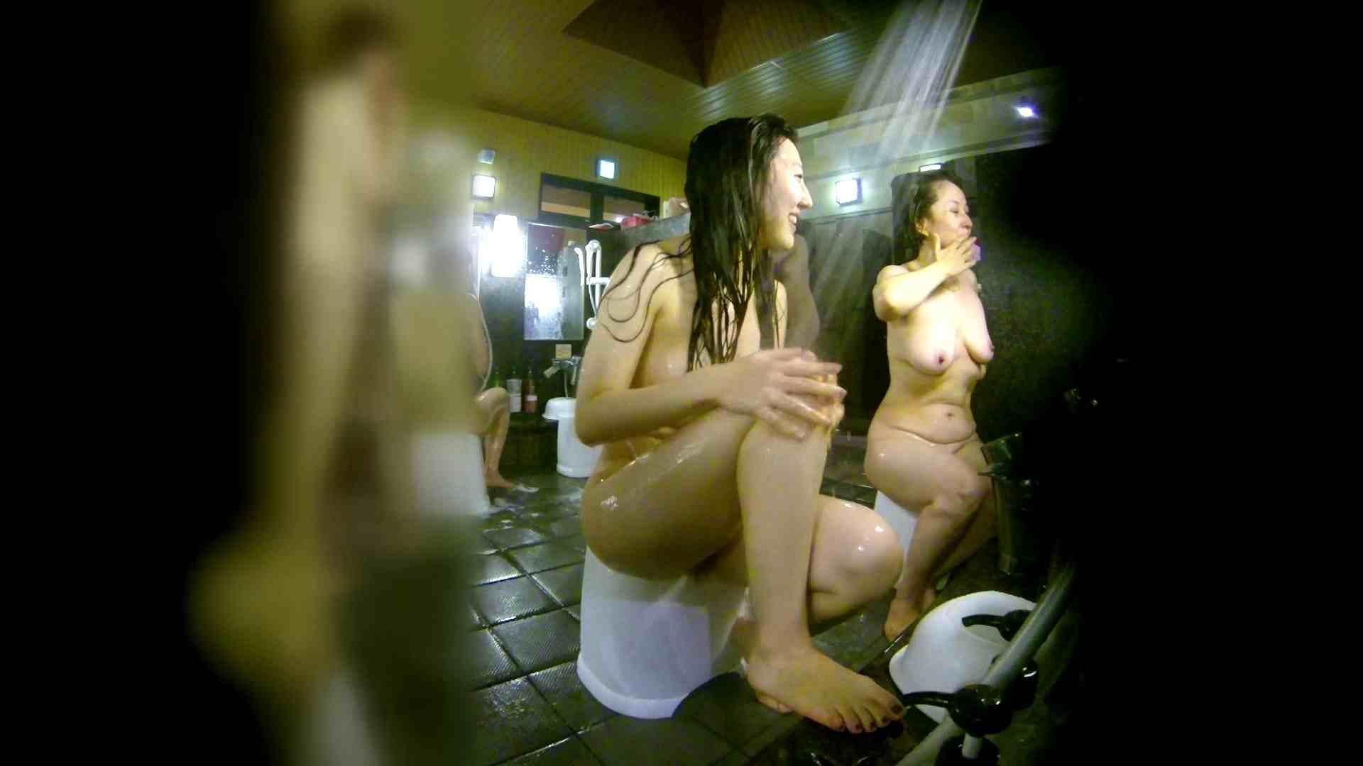 洗い場!右足の位置がいいですね。陰毛もっさり! 美肌 セックス画像 111画像 44