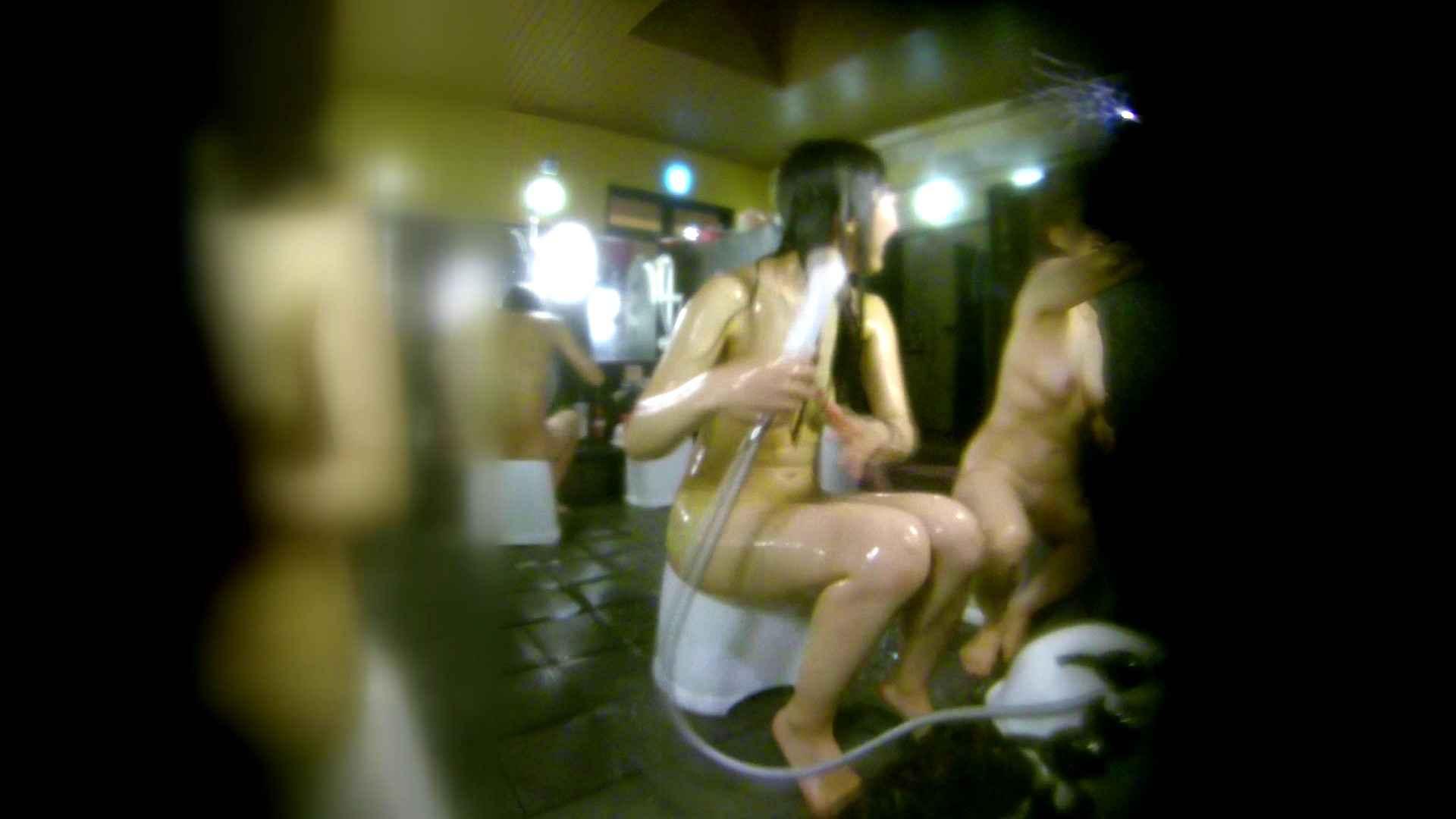洗い場!右足の位置がいいですね。陰毛もっさり! 潜入 オメコ動画キャプチャ 111画像 82