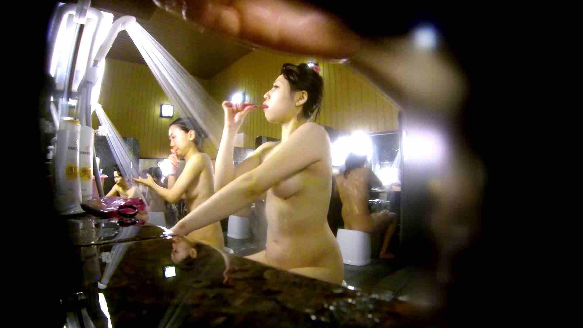 洗い場!柔らかそうな身体は良いけど、歯磨きが下品です。 銭湯着替え AV無料動画キャプチャ 107画像 5