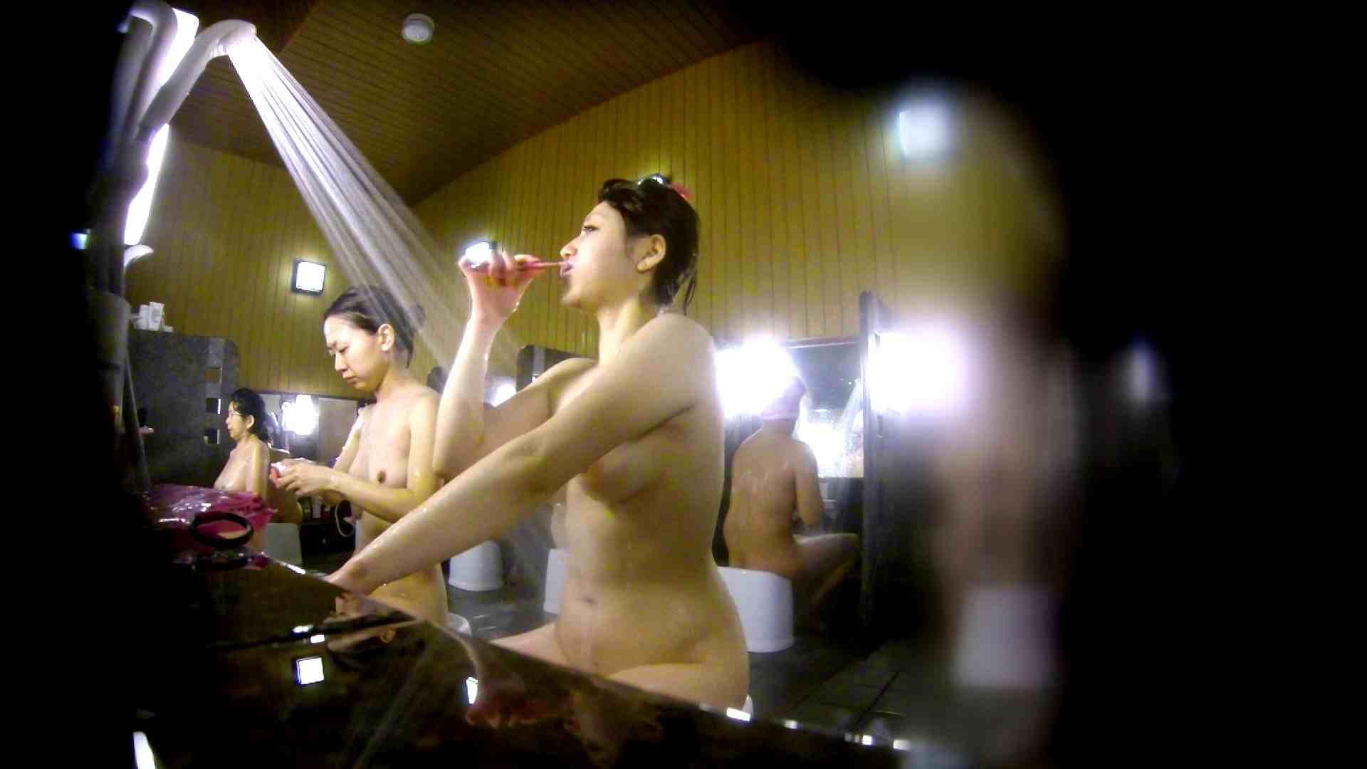 洗い場!柔らかそうな身体は良いけど、歯磨きが下品です。 潜入 | 女湯  107画像 29