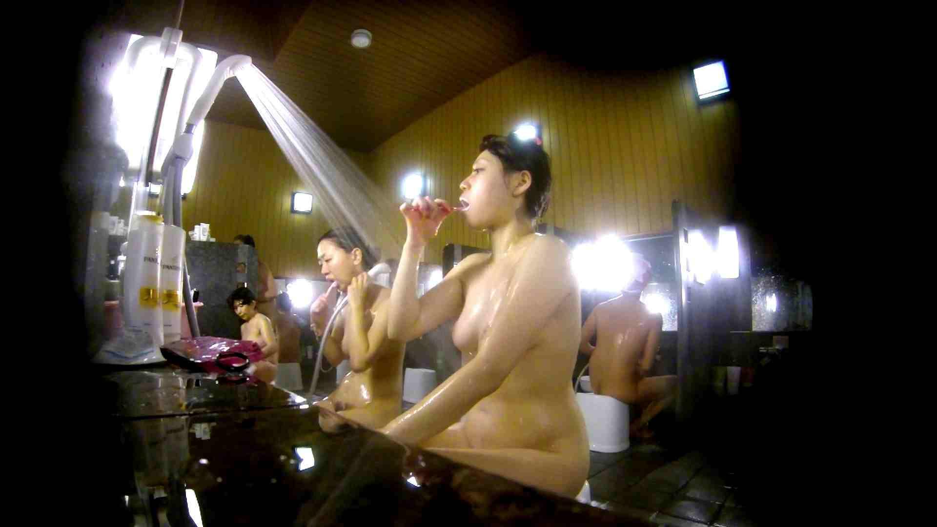 洗い場!柔らかそうな身体は良いけど、歯磨きが下品です。 銭湯着替え AV無料動画キャプチャ 107画像 40