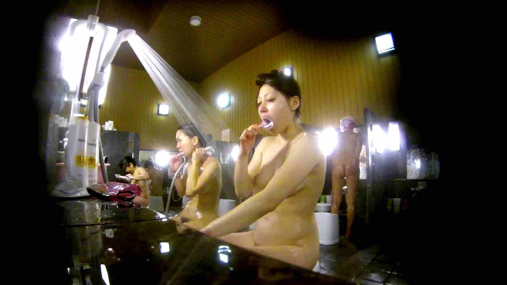 洗い場!柔らかそうな身体は良いけど、歯磨きが下品です。 むっちり オメコ動画キャプチャ 107画像 45