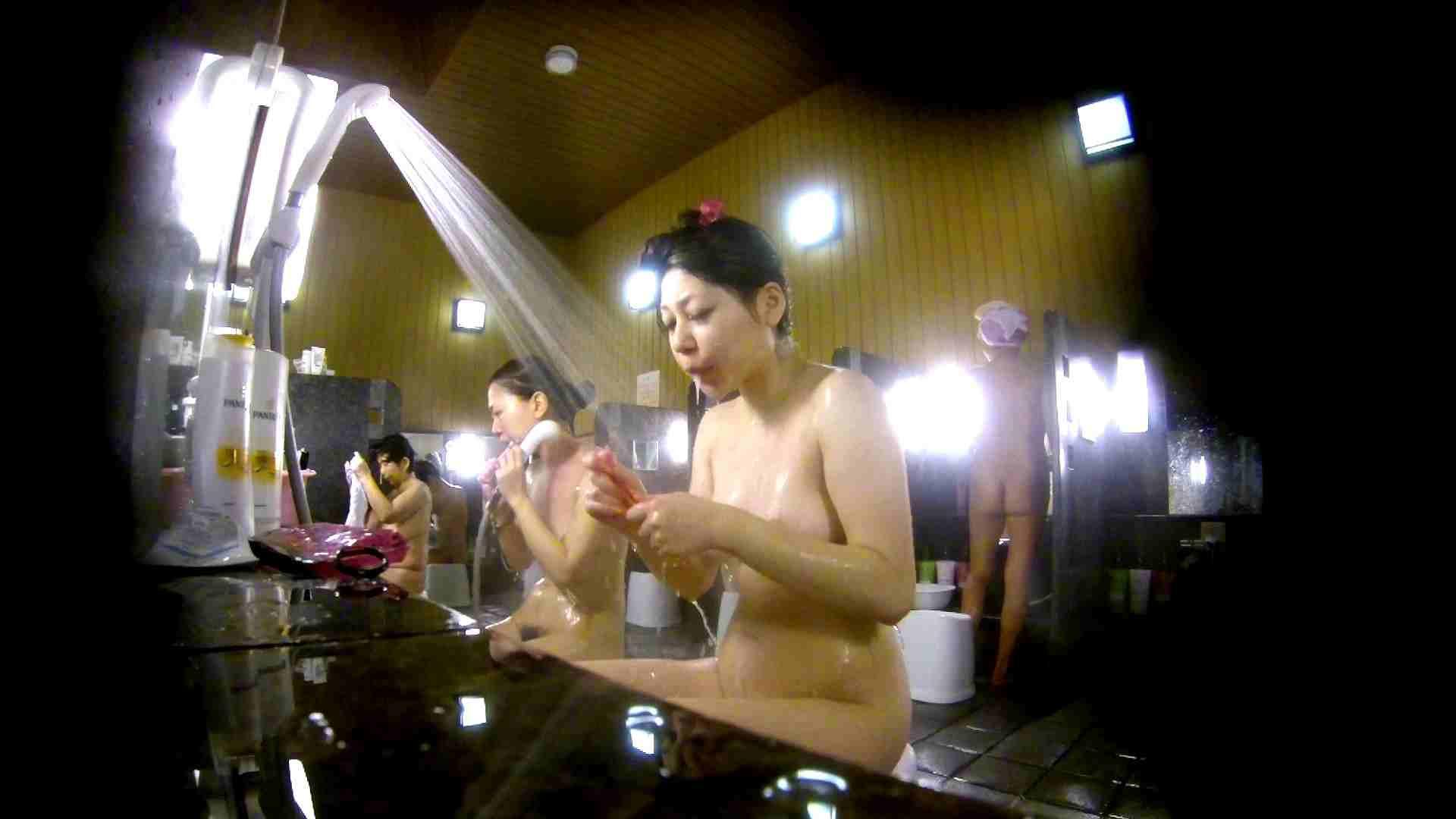 洗い場!柔らかそうな身体は良いけど、歯磨きが下品です。 銭湯着替え AV無料動画キャプチャ 107画像 47