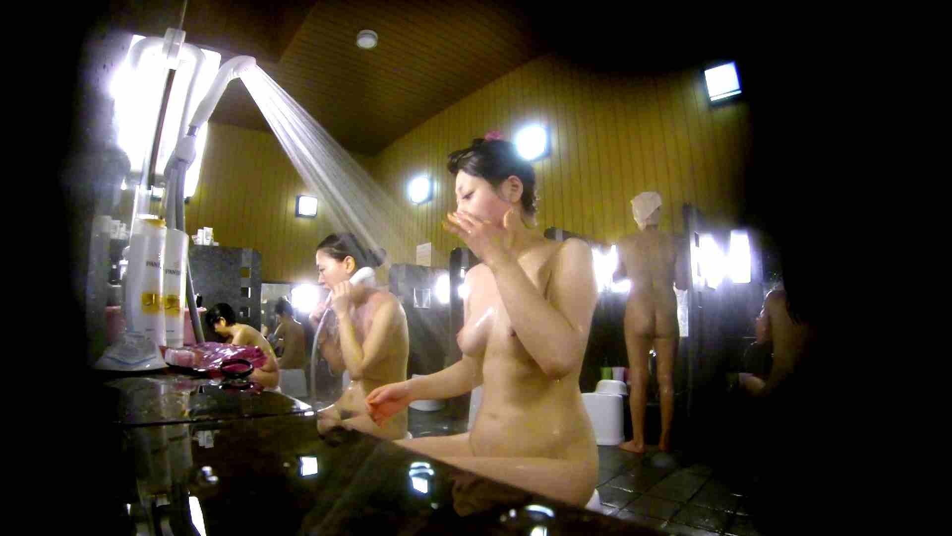 洗い場!柔らかそうな身体は良いけど、歯磨きが下品です。 潜入  107画像 56