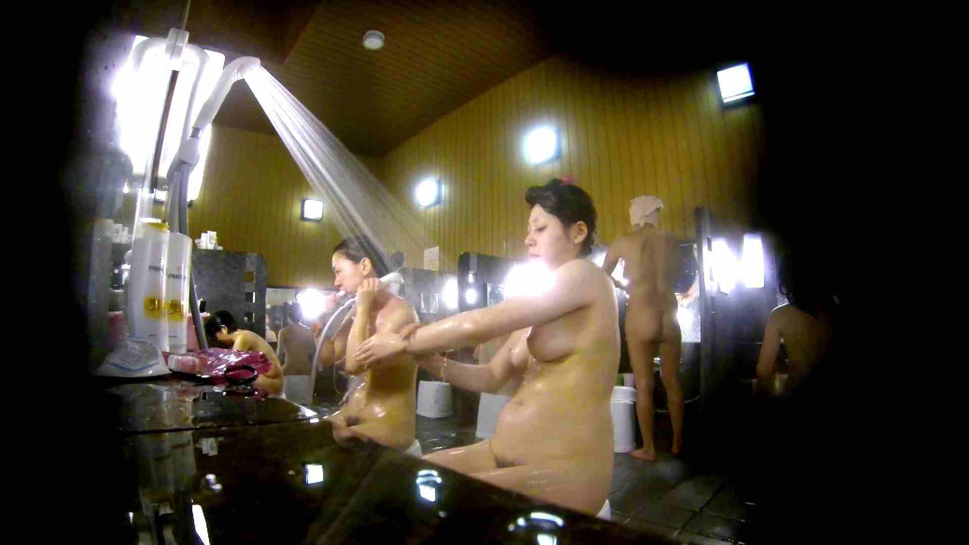 洗い場!柔らかそうな身体は良いけど、歯磨きが下品です。 潜入 | 女湯  107画像 57