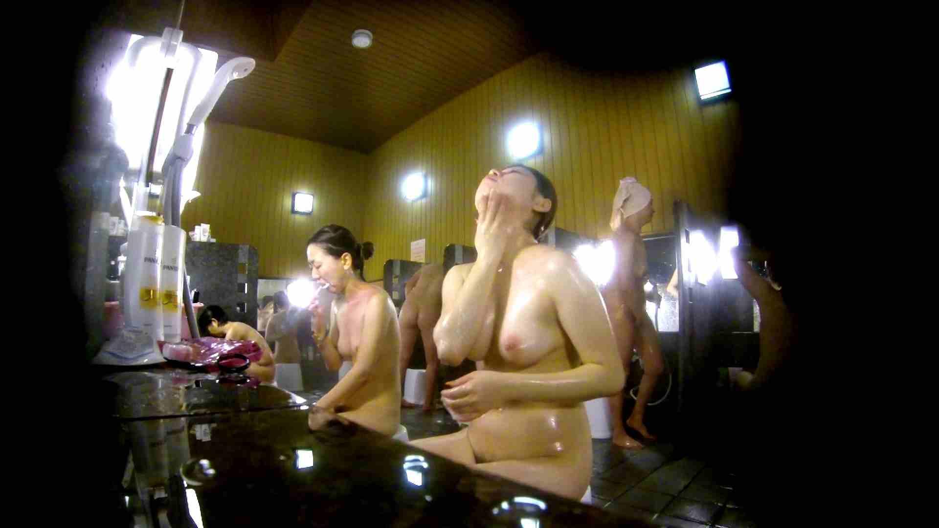 洗い場!柔らかそうな身体は良いけど、歯磨きが下品です。 銭湯着替え AV無料動画キャプチャ 107画像 61