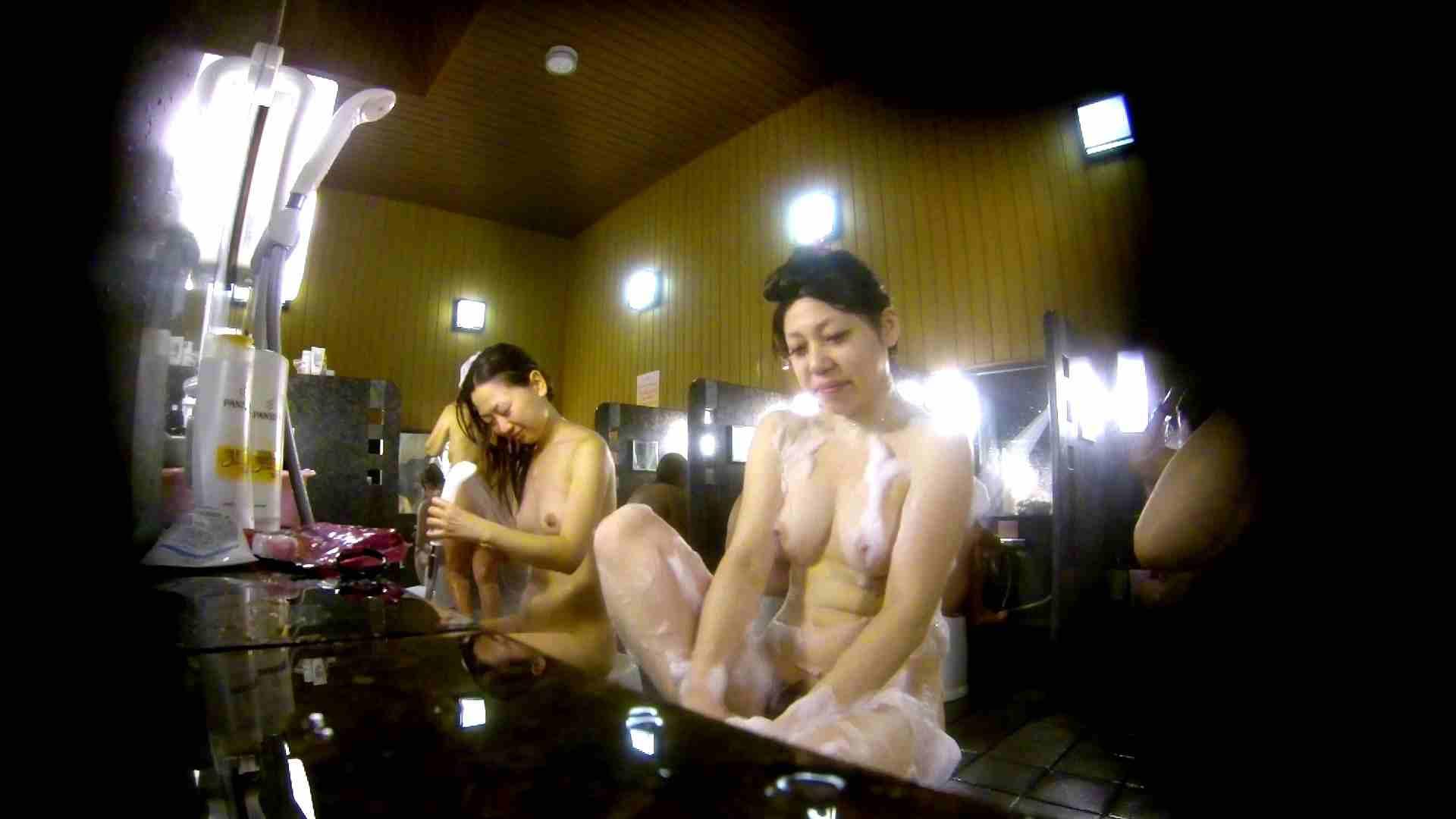 洗い場!柔らかそうな身体は良いけど、歯磨きが下品です。 潜入 | 女湯  107画像 85