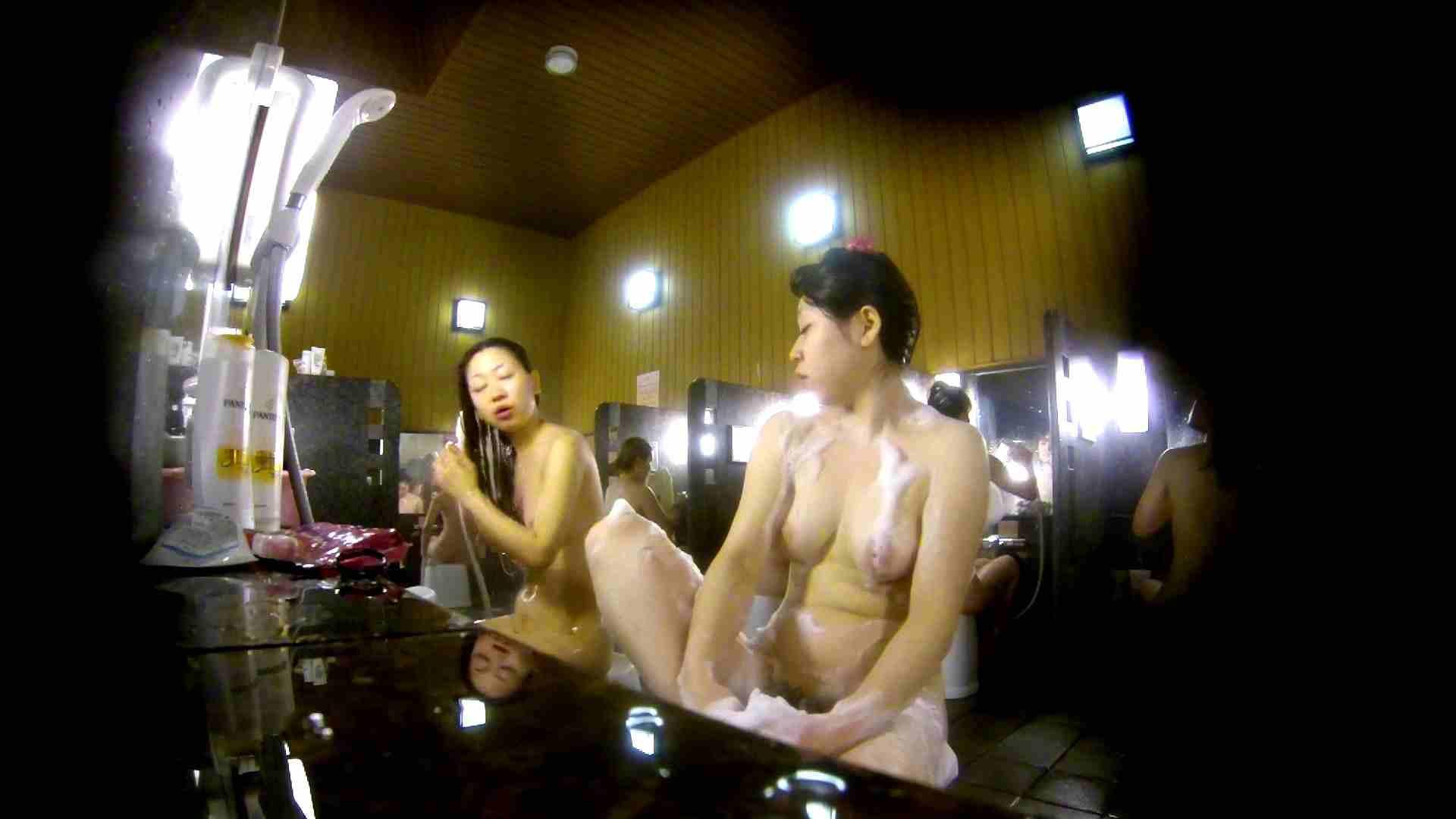 洗い場!柔らかそうな身体は良いけど、歯磨きが下品です。 銭湯着替え AV無料動画キャプチャ 107画像 89