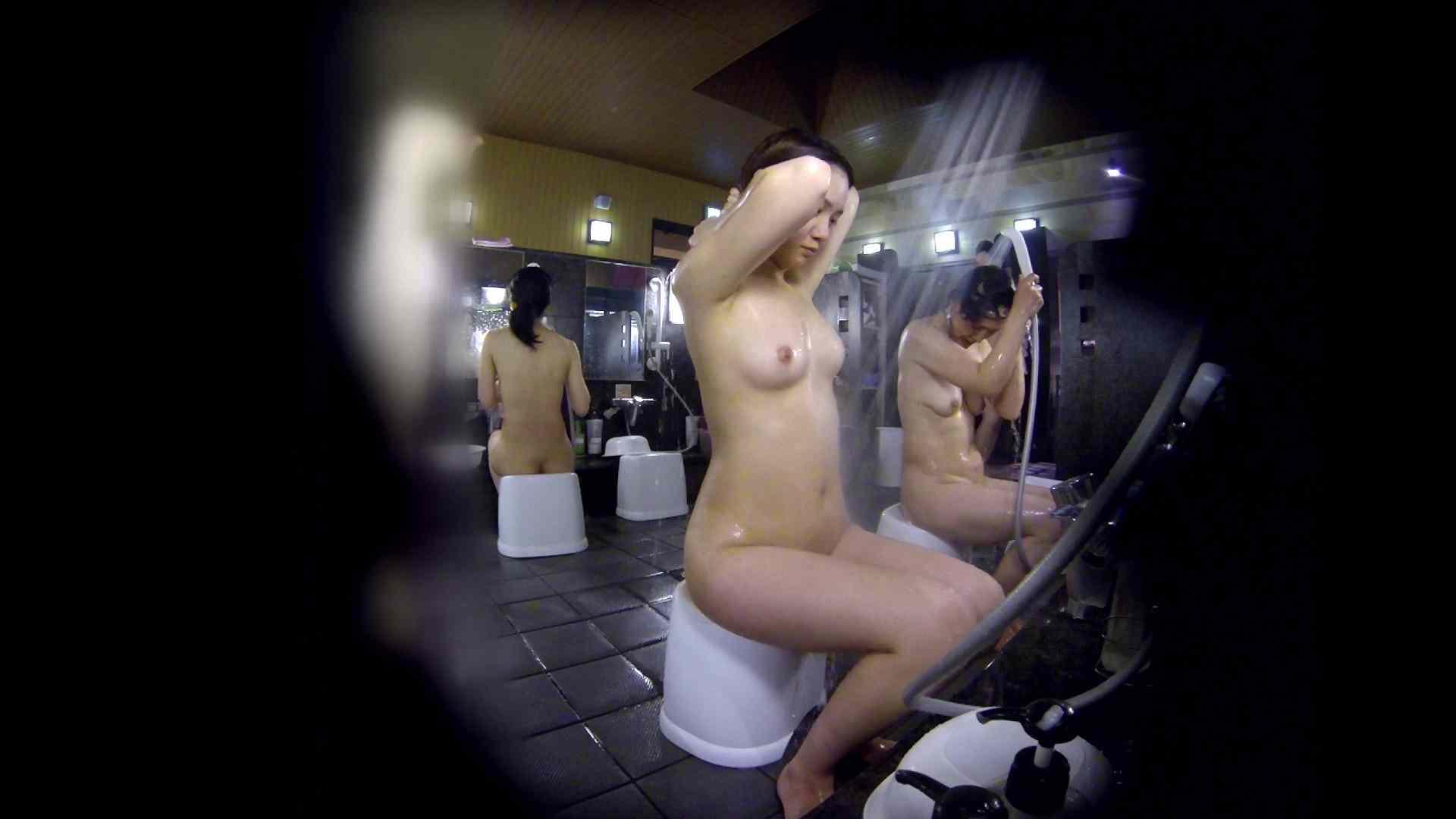 洗い場!好きです!ボリューム満点ボディーな感じが堪りません。 女湯 | 桃色乳首  113画像 49