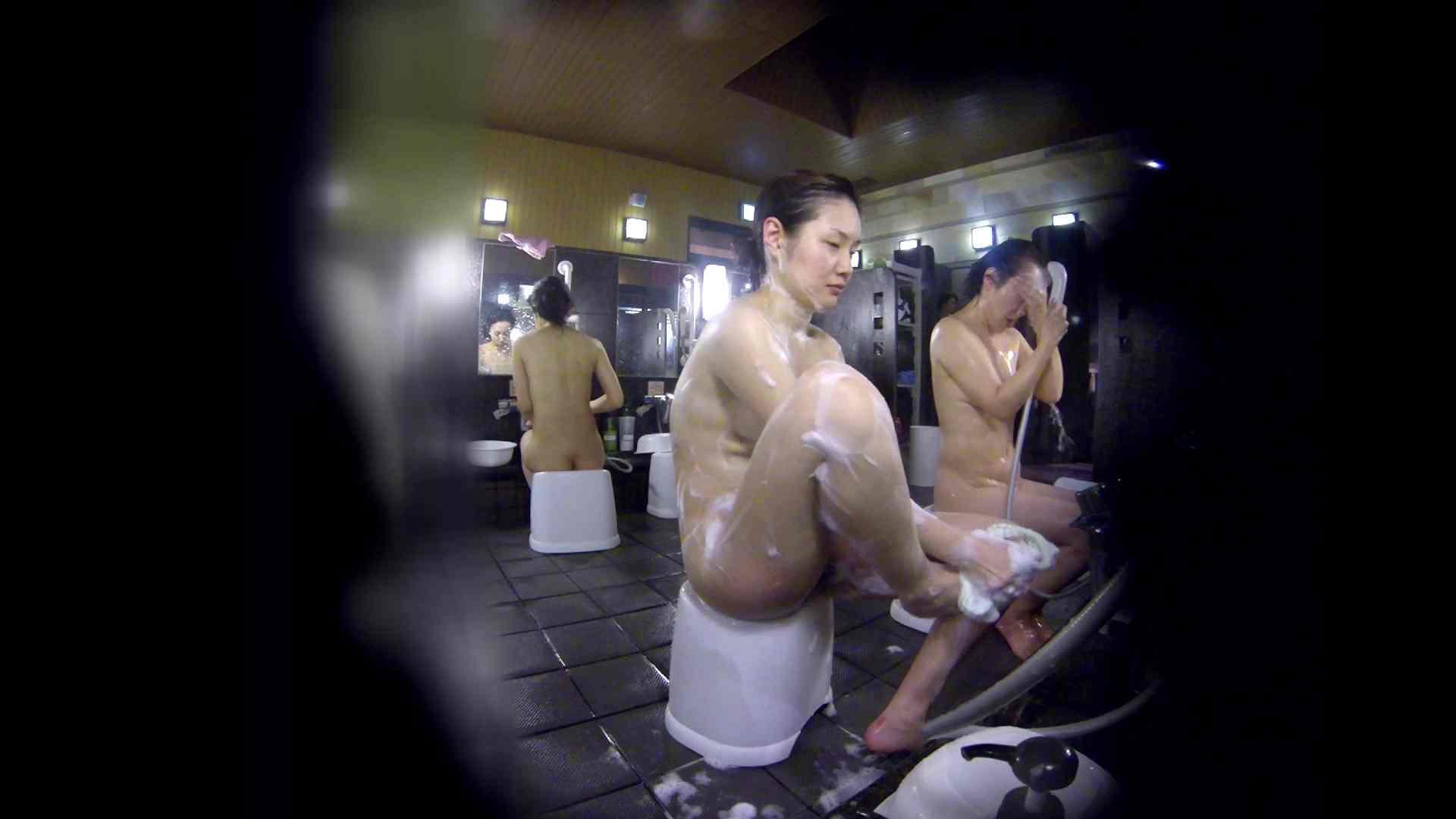 洗い場!好きです!ボリューム満点ボディーな感じが堪りません。 女湯 | 桃色乳首  113画像 97