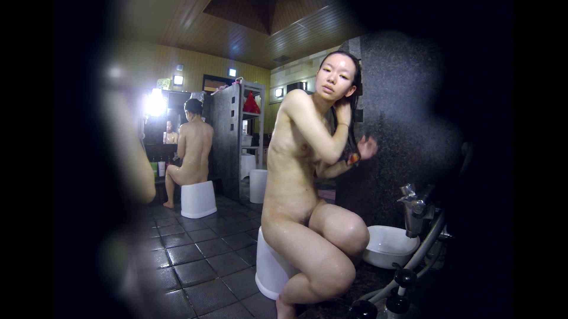 洗い場!可愛い?ブサイク?確かなのは貧乳であること 女湯 セックス画像 61画像 3