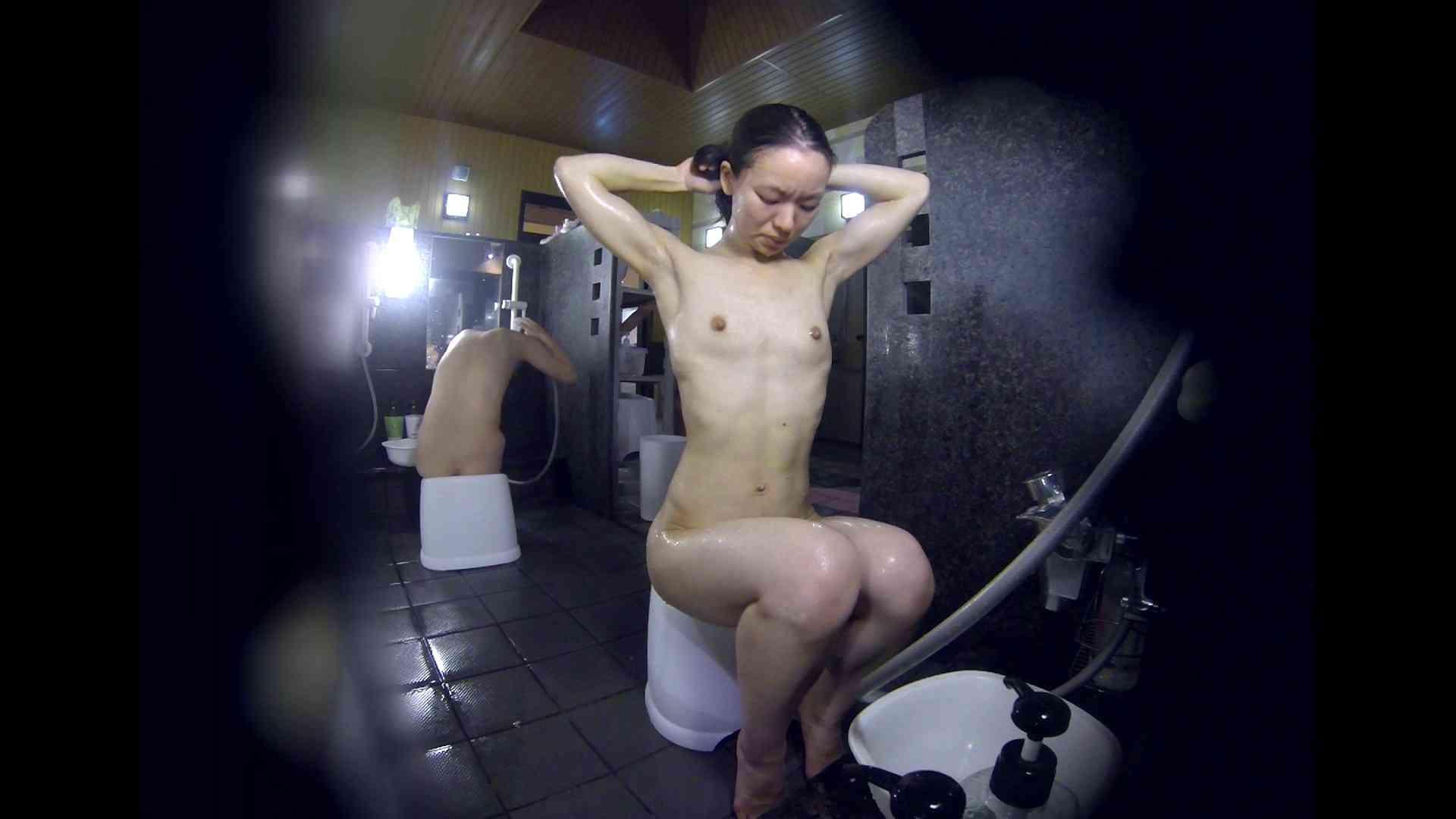 洗い場!可愛い?ブサイク?確かなのは貧乳であること 銭湯着替え AV無料動画キャプチャ 61画像 11