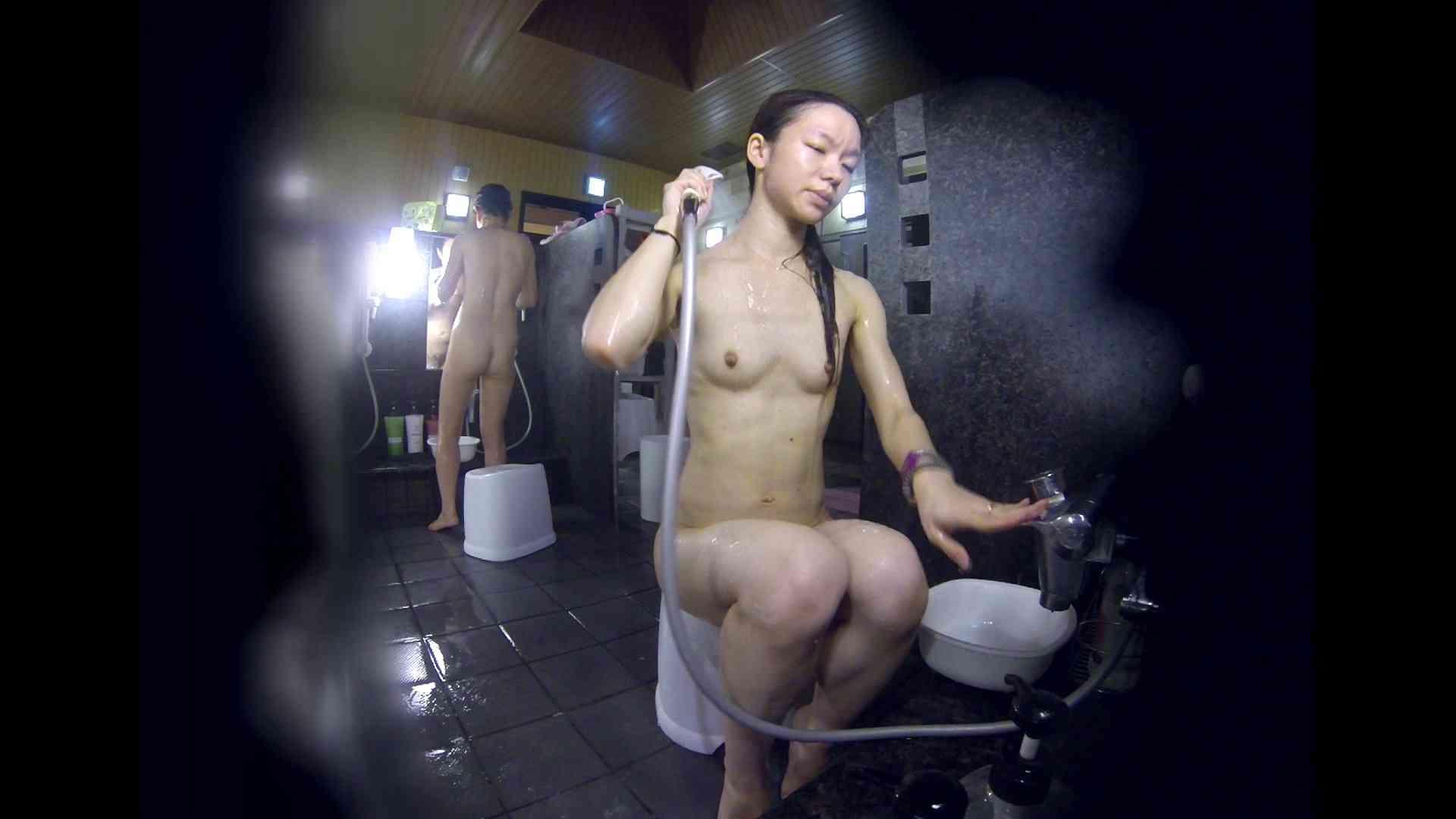 洗い場!可愛い?ブサイク?確かなのは貧乳であること 女湯 セックス画像 61画像 15